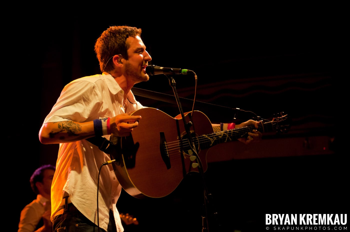 Frank Turner & The Sleeping Souls @ Webster Hall, NYC - 9.29.12 (2)