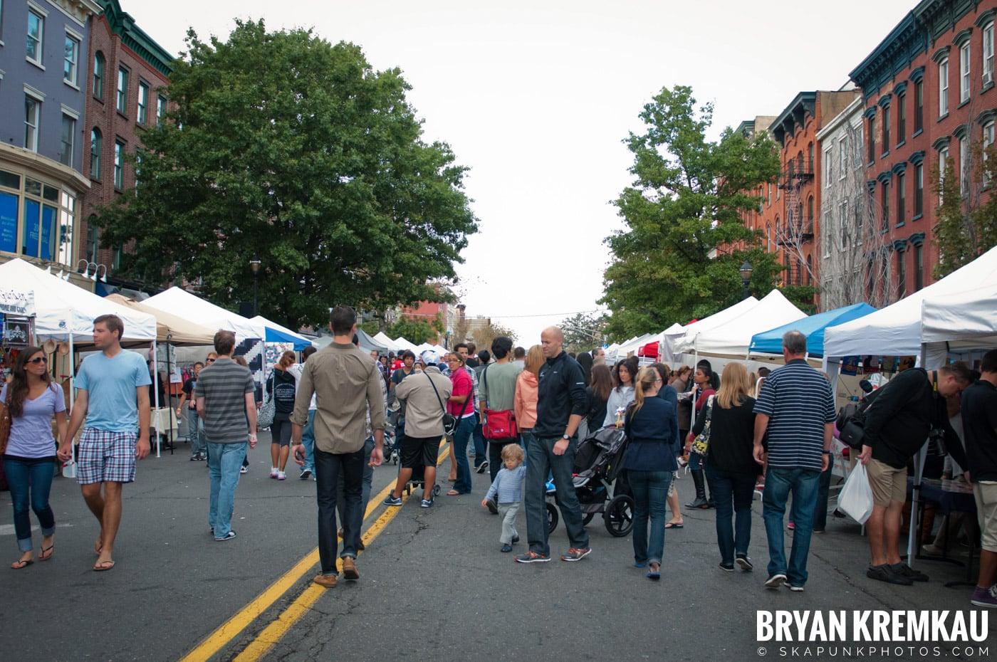 The Push Stars @ Hoboken Arts and Music Festival, Hoboken NJ - 9.30.12 (3)