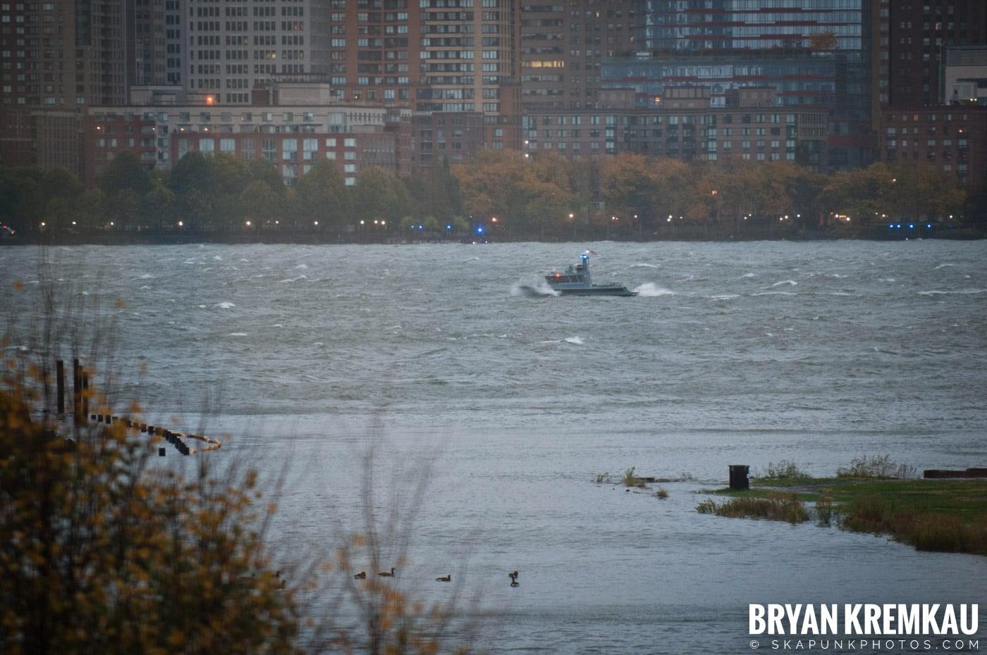 Hurricane Sandy 2012 @ Paulus Hook, Jersey City - 10.29.12 - 10.30.12 (58)
