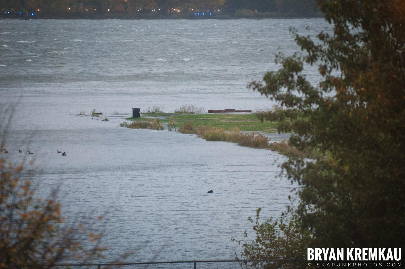 Hurricane Sandy 2012 @ Paulus Hook, Jersey City - 10.29.12 - 10.30.12 (57)