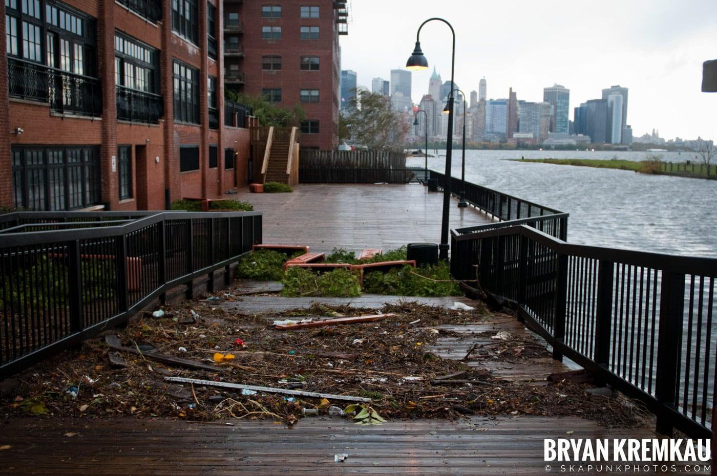Hurricane Sandy 2012 @ Paulus Hook, Jersey City - 10.29.12 - 10.30.12 (39)