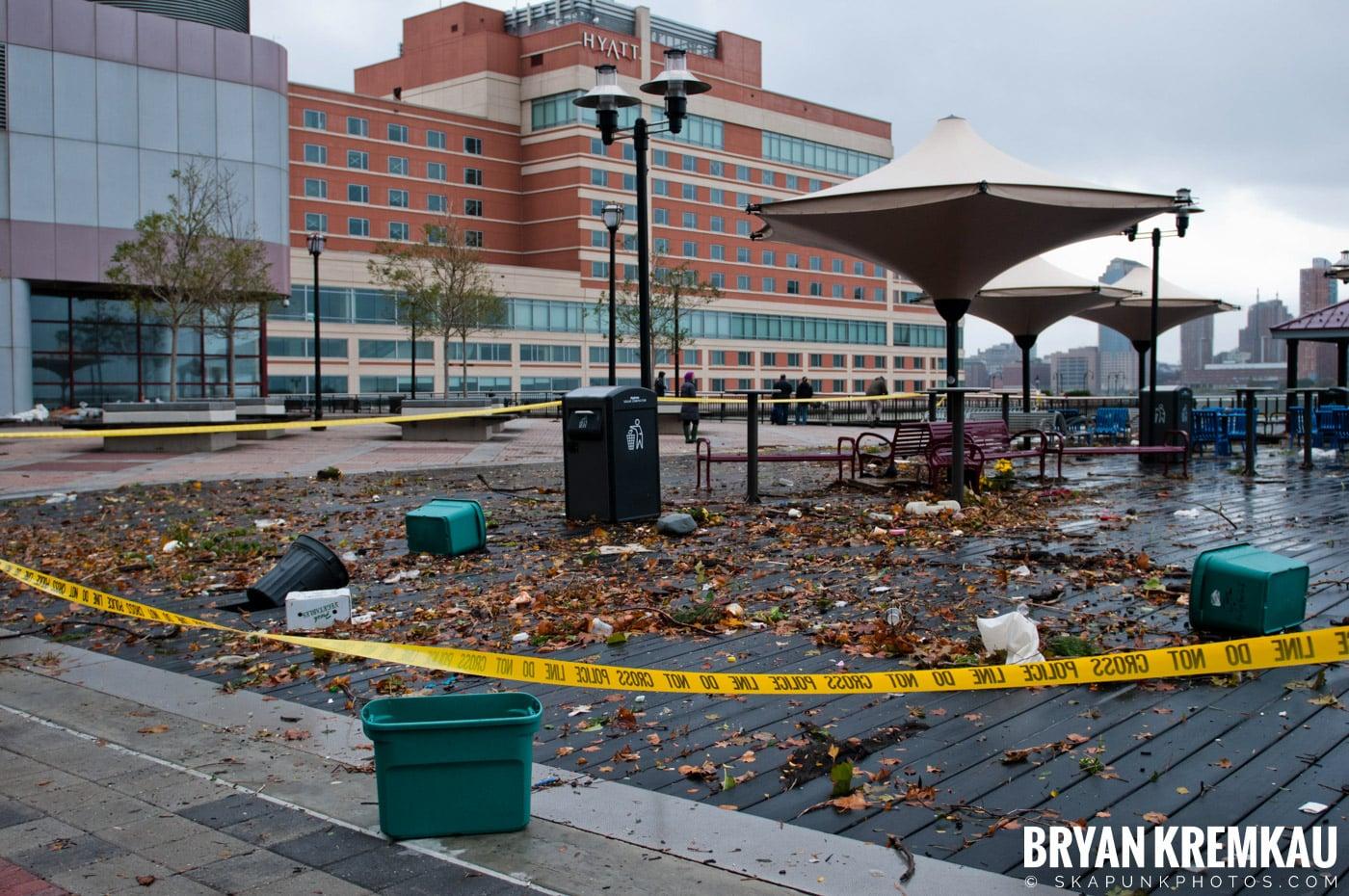 Hurricane Sandy 2012 @ Paulus Hook, Jersey City - 10.29.12 - 10.30.12 (7)