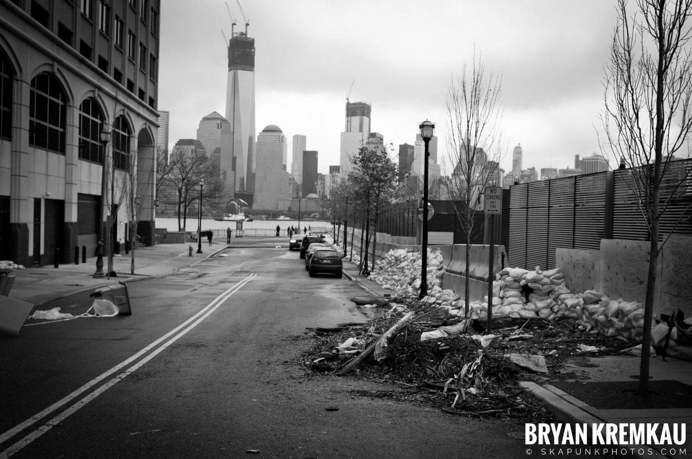 Hurricane Sandy 2012 @ Paulus Hook, Jersey City - 10.29.12 - 10.30.12 (1)