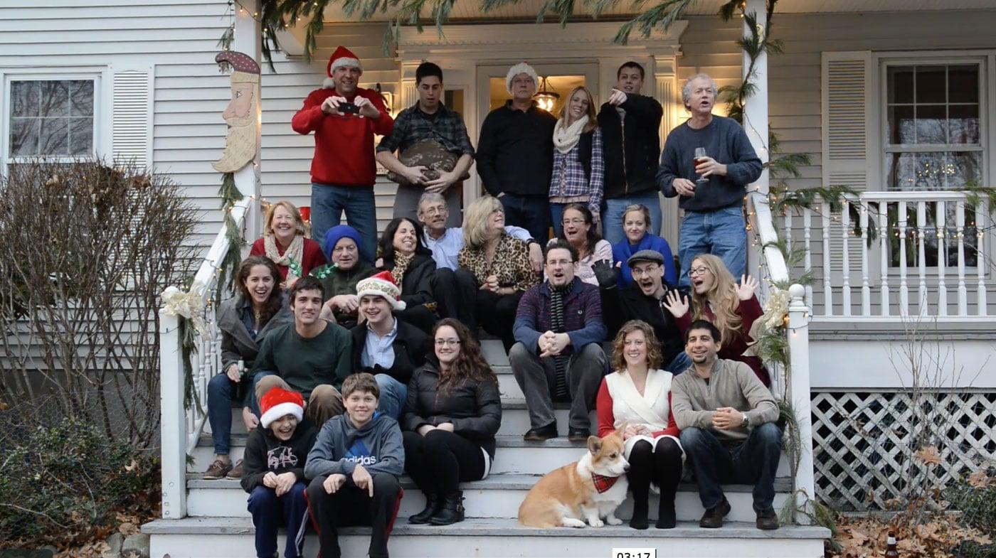 Christmas at The Rumpfs 2012