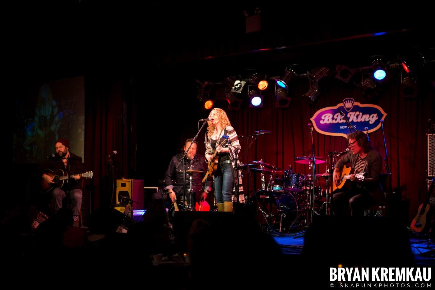 Amy Helm @ B.B. Kings Blues & Grill, NYC - 1.11.13 (18)