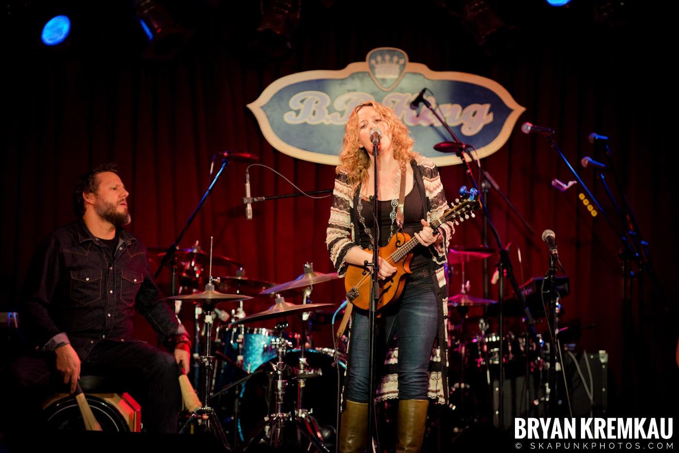 Amy Helm @ B.B. Kings Blues & Grill, NYC - 1.11.13 (11)