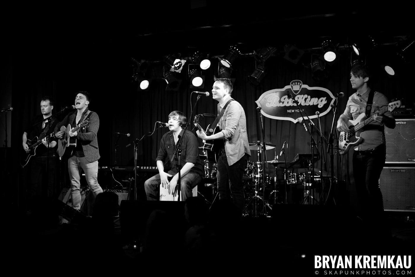 The Dunwells @ B.B. Kings Blues & Grill, NYC - 1.11.13 (16)