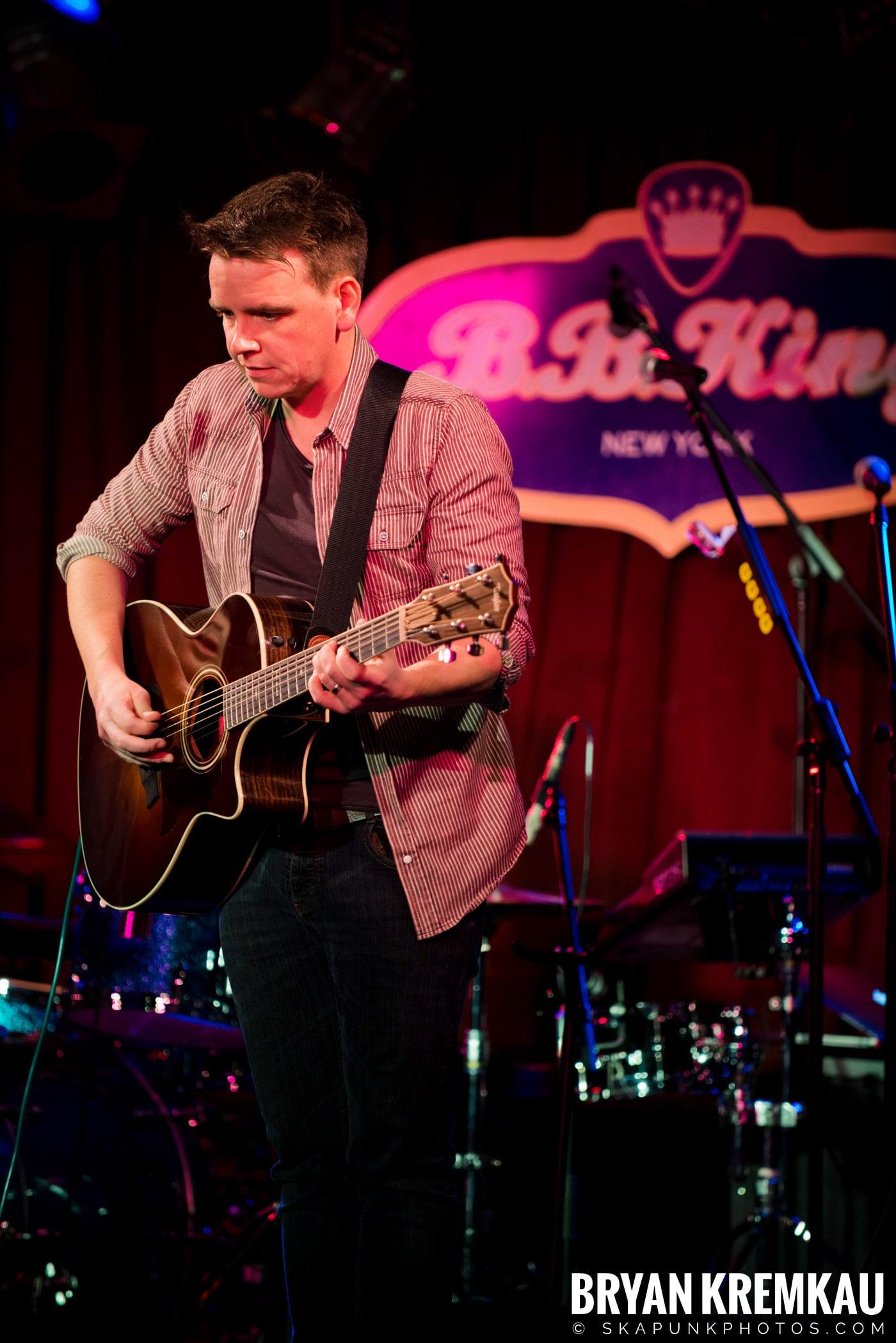 The Dunwells @ B.B. Kings Blues & Grill, NYC - 1.11.13 (15)