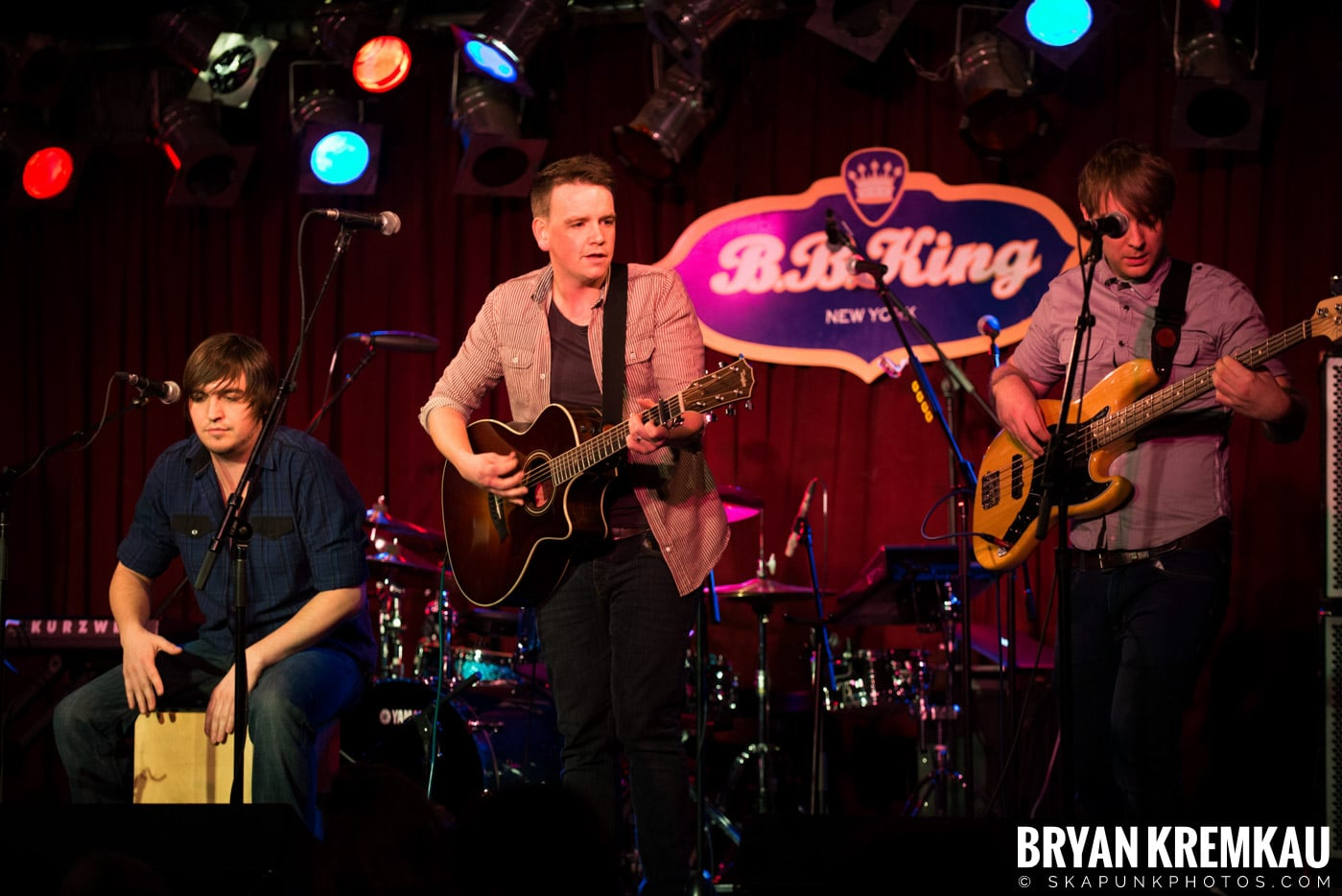 The Dunwells @ B.B. Kings Blues & Grill, NYC - 1.11.13 (10)