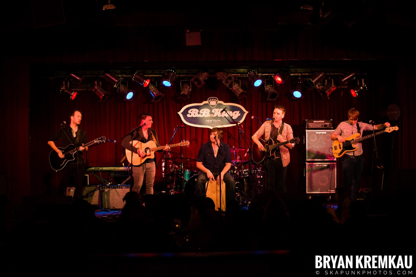 The Dunwells @ B.B. Kings Blues & Grill, NYC - 1.11.13 (7)