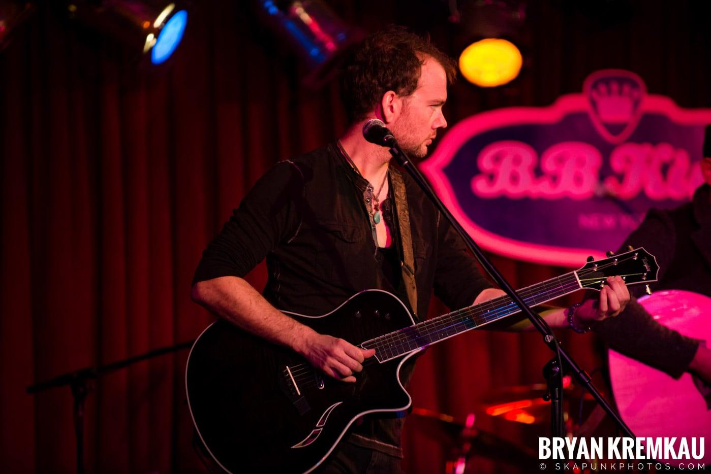 The Dunwells @ B.B. Kings Blues & Grill, NYC - 1.11.13 (6)