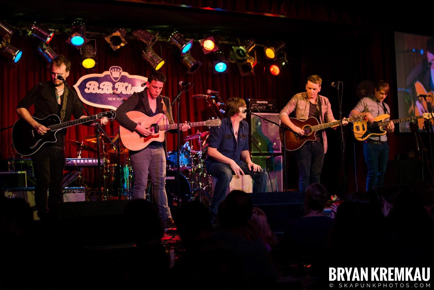 The Dunwells @ B.B. Kings Blues & Grill, NYC - 1.11.13 (5)