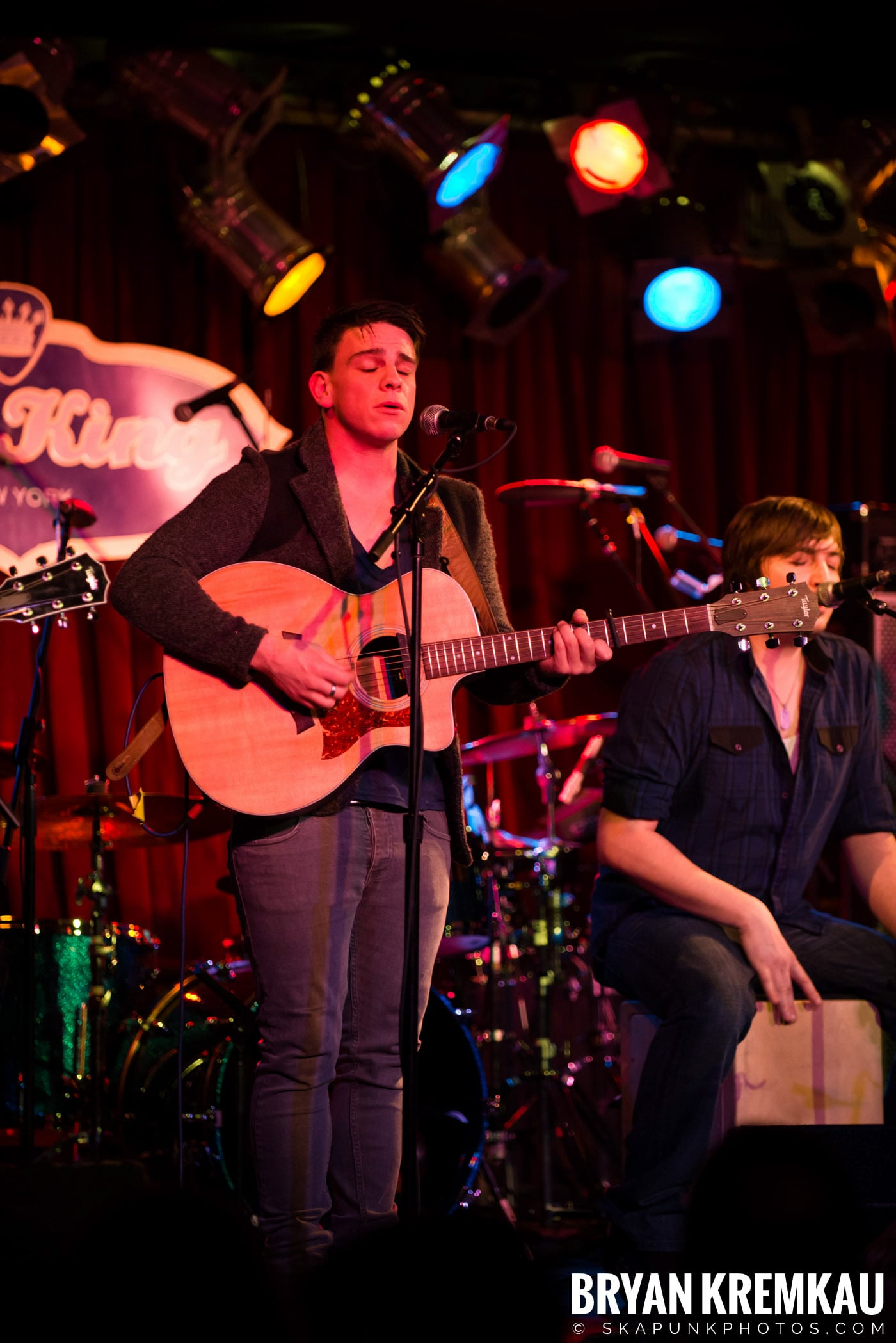 The Dunwells @ B.B. Kings Blues & Grill, NYC - 1.11.13 (4)