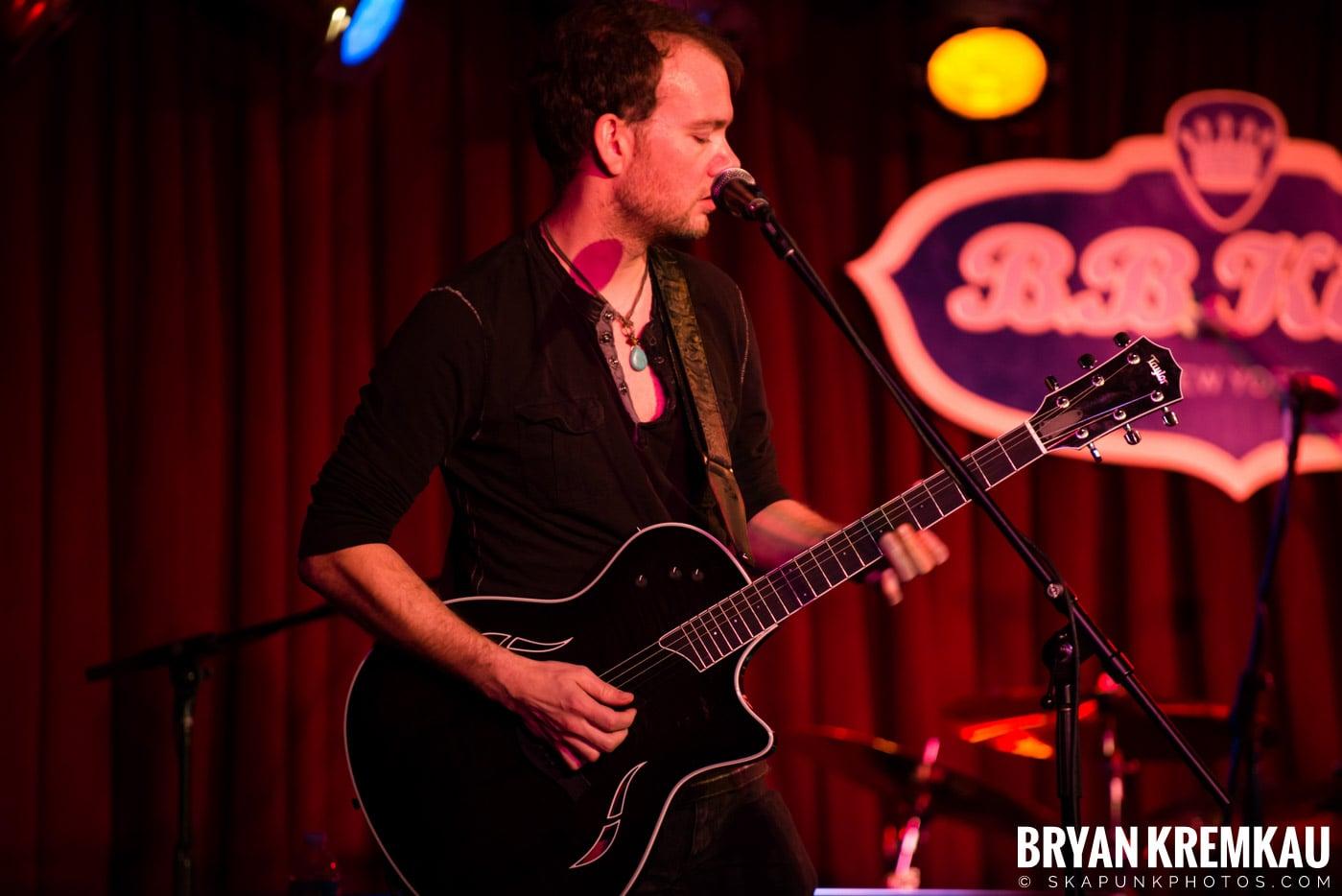 The Dunwells @ B.B. Kings Blues & Grill, NYC - 1.11.13 (3)