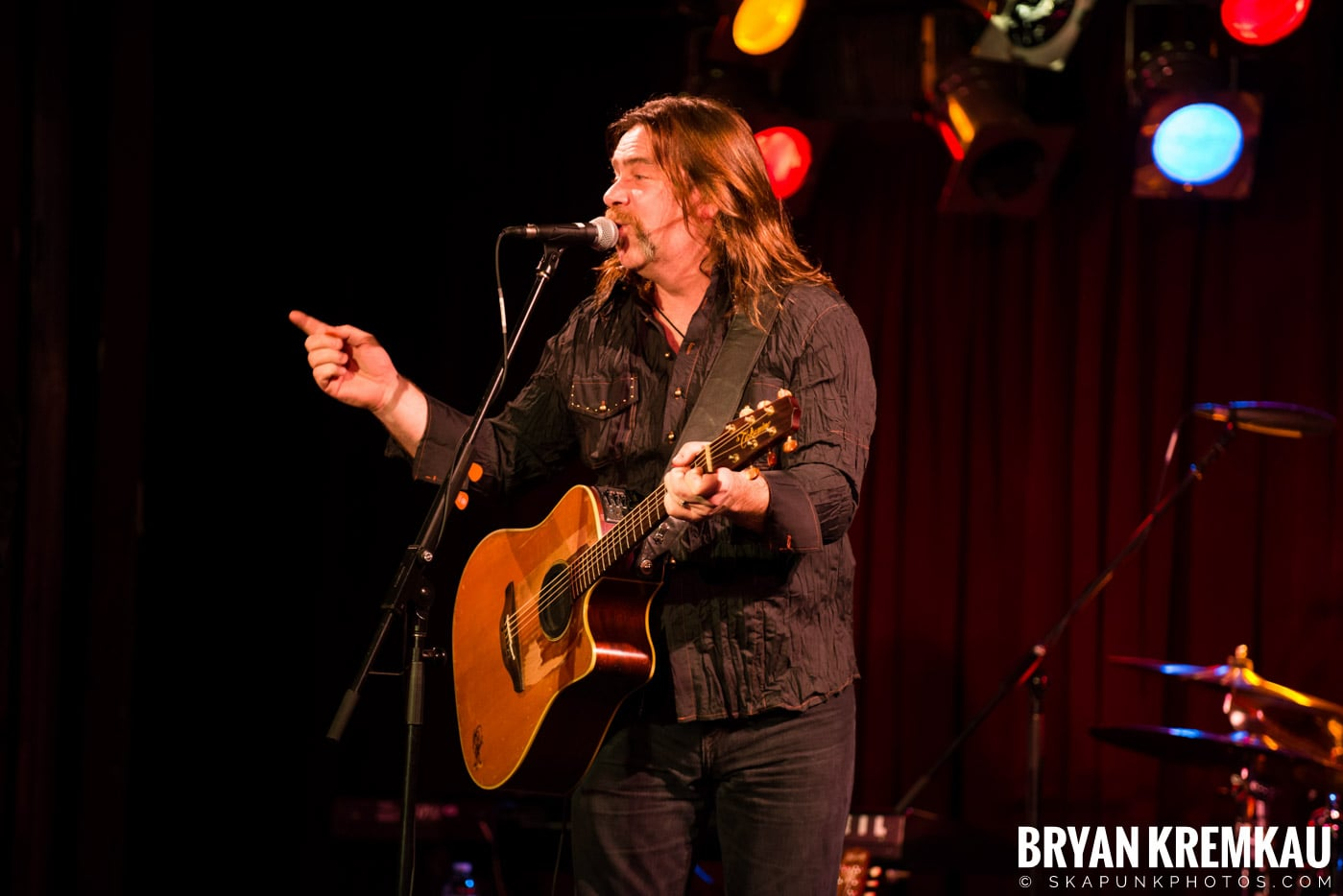 Alan Doyle @ B.B. King Blues & Grill, NYC - 1.11.13 (29)