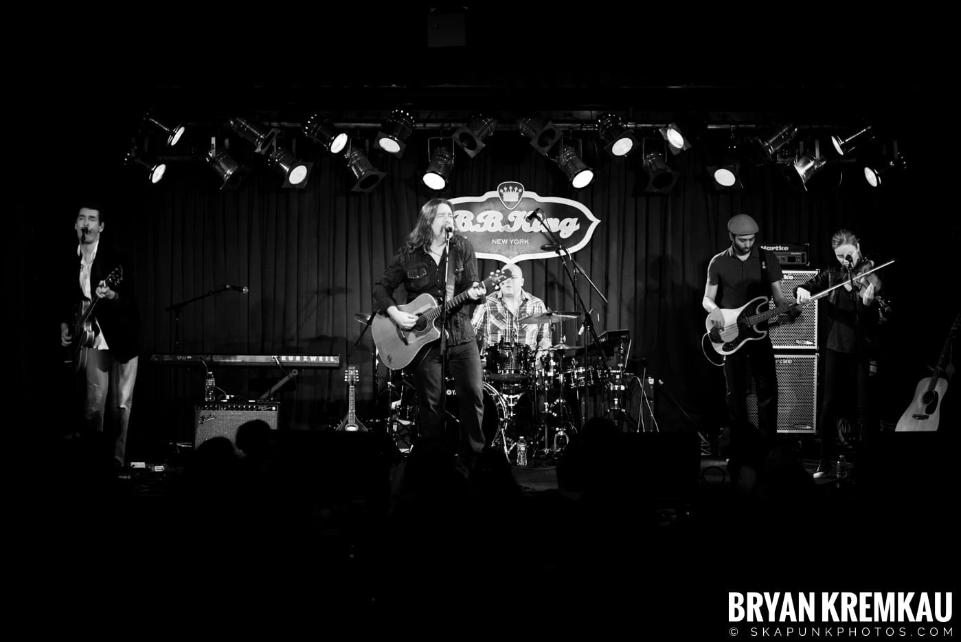 Alan Doyle @ B.B. King Blues & Grill, NYC - 1.11.13 (28)