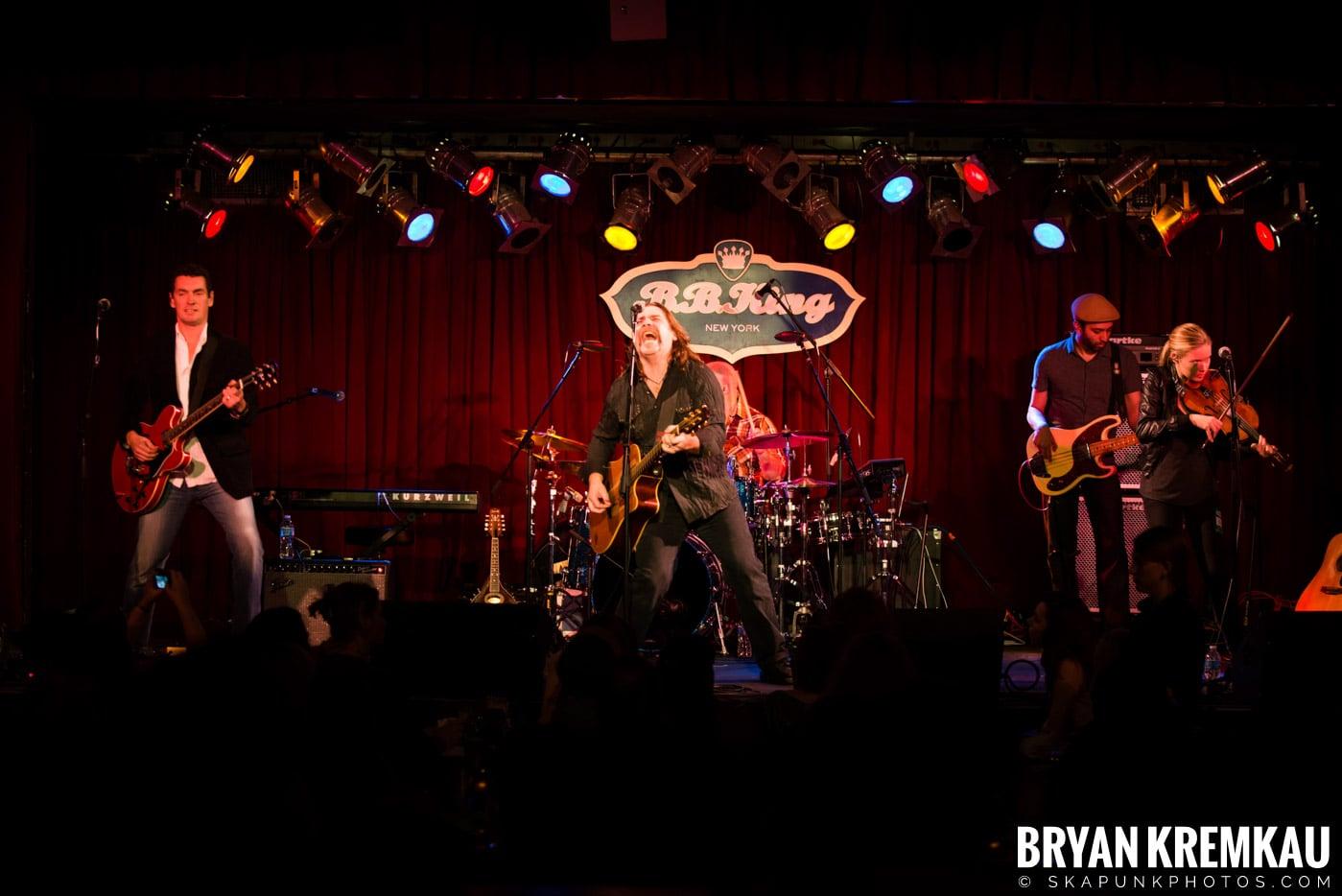 Alan Doyle @ B.B. King Blues & Grill, NYC - 1.11.13 (26)