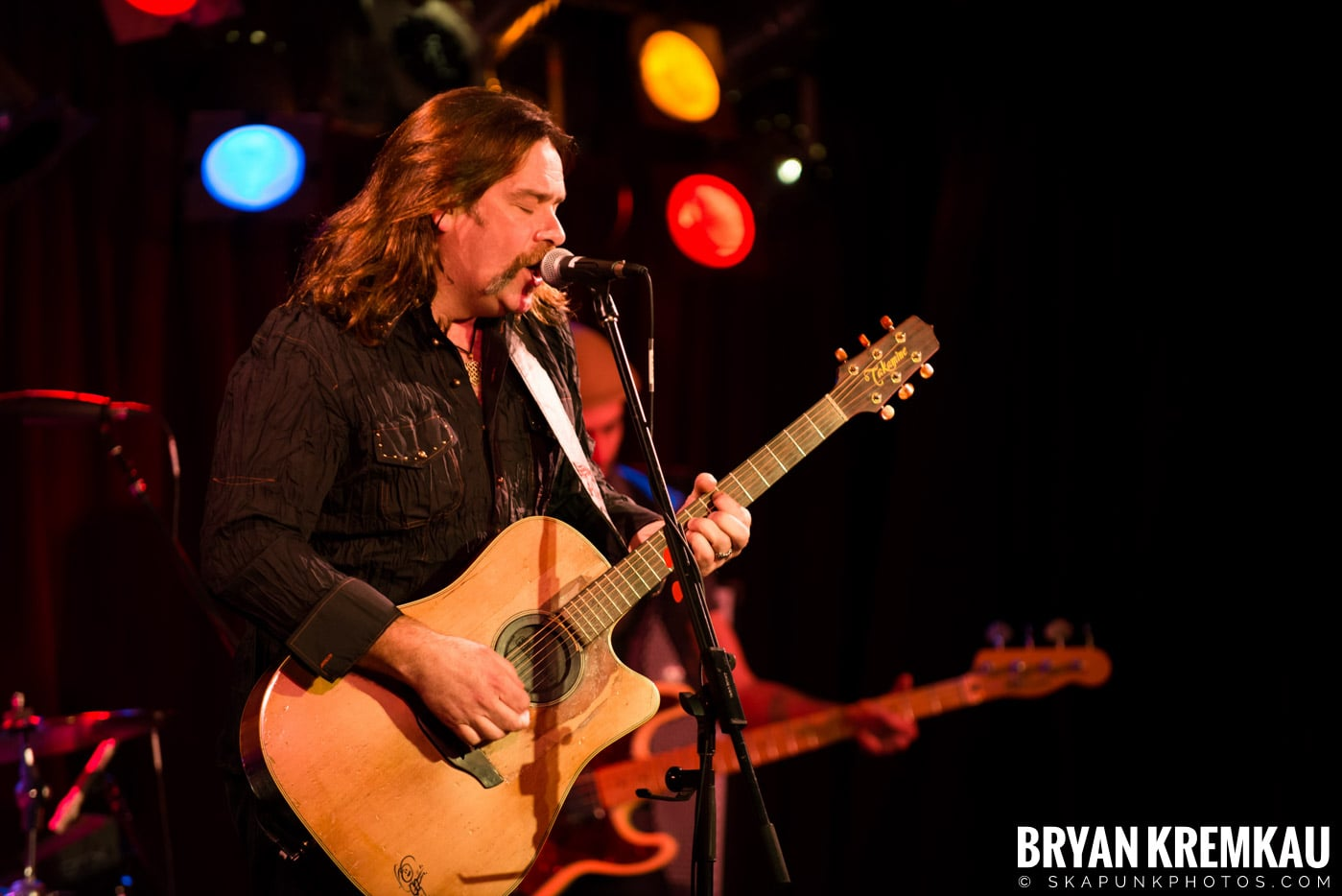 Alan Doyle @ B.B. King Blues & Grill, NYC - 1.11.13 (23)