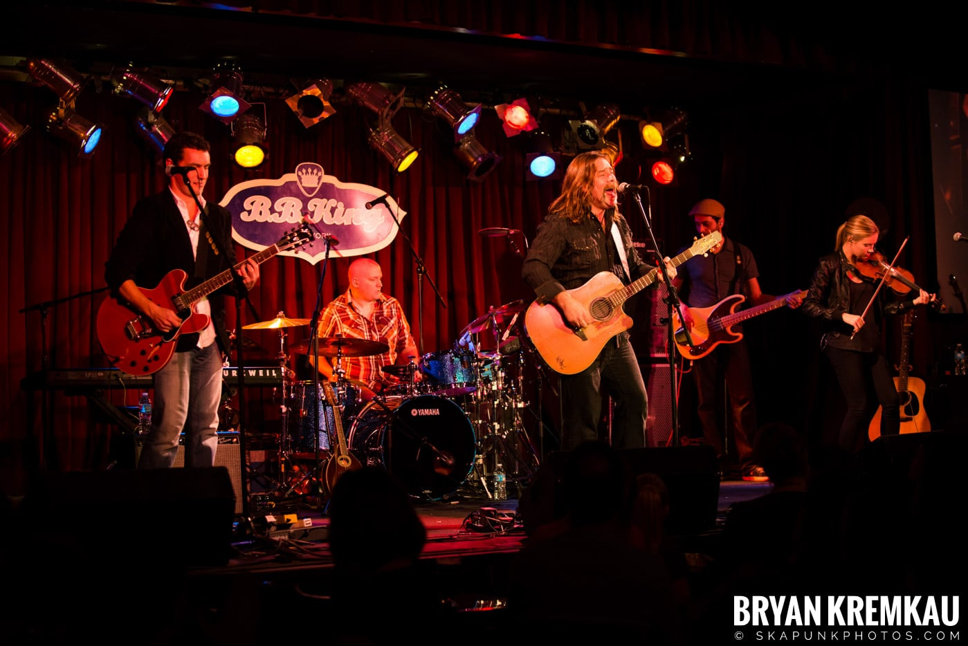 Alan Doyle @ B.B. King Blues & Grill, NYC - 1.11.13 (21)
