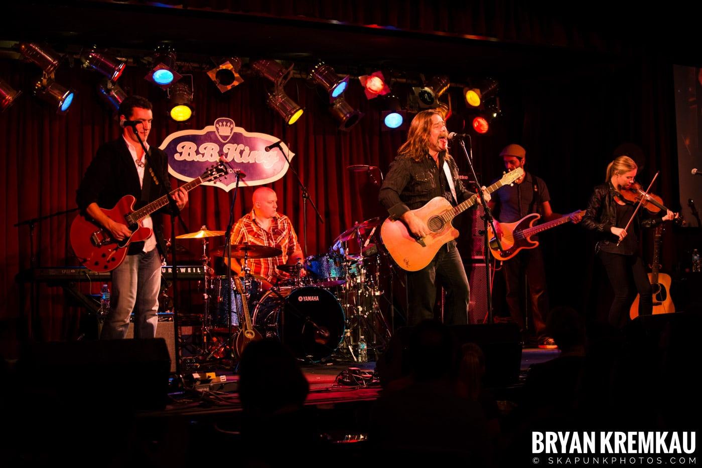 Alan Doyle @ B.B. King Blues & Grill, NYC - 1.11.13 (21)