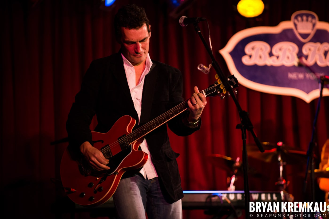 Alan Doyle @ B.B. King Blues & Grill, NYC - 1.11.13 (18)