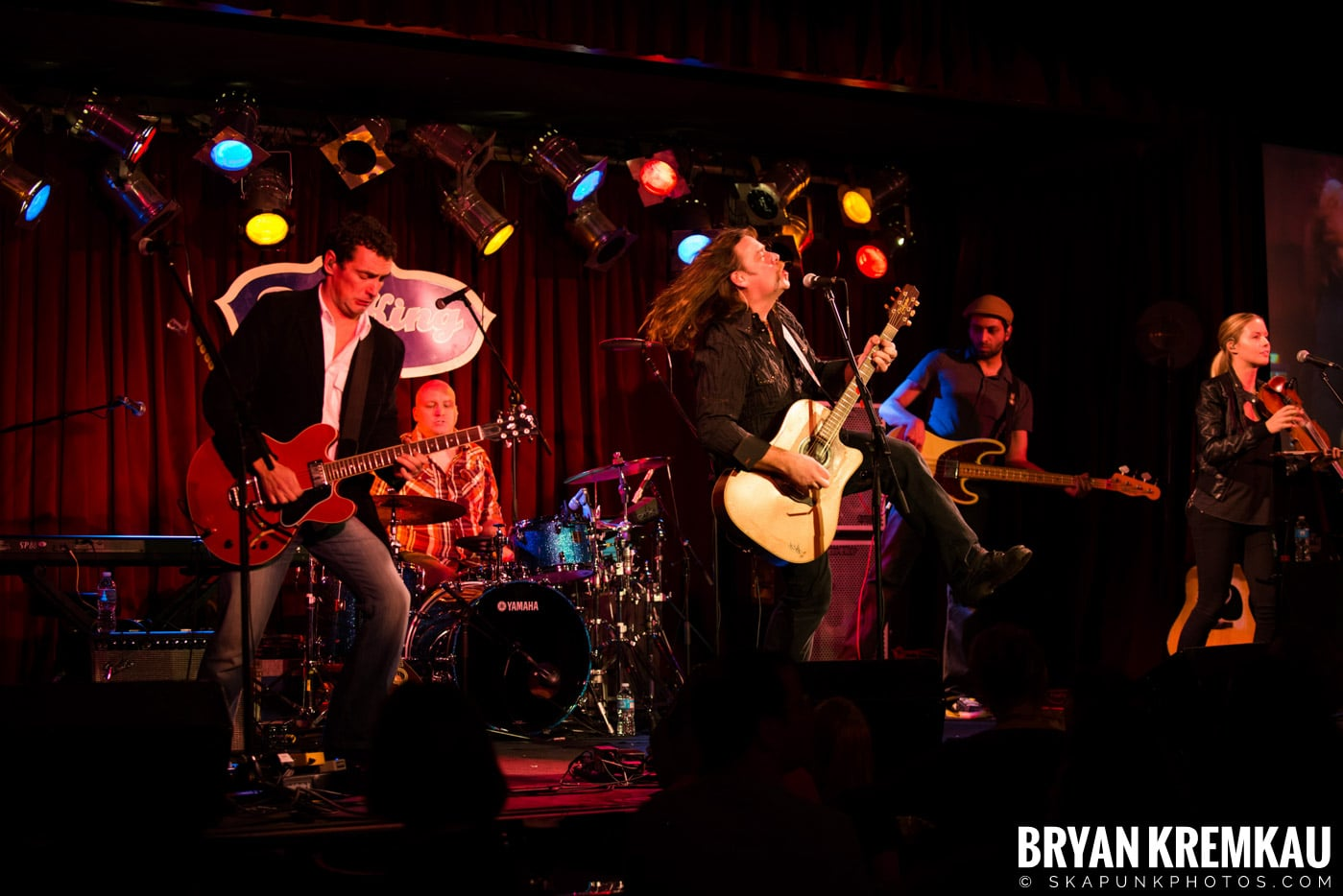 Alan Doyle @ B.B. King Blues & Grill, NYC - 1.11.13 (17)