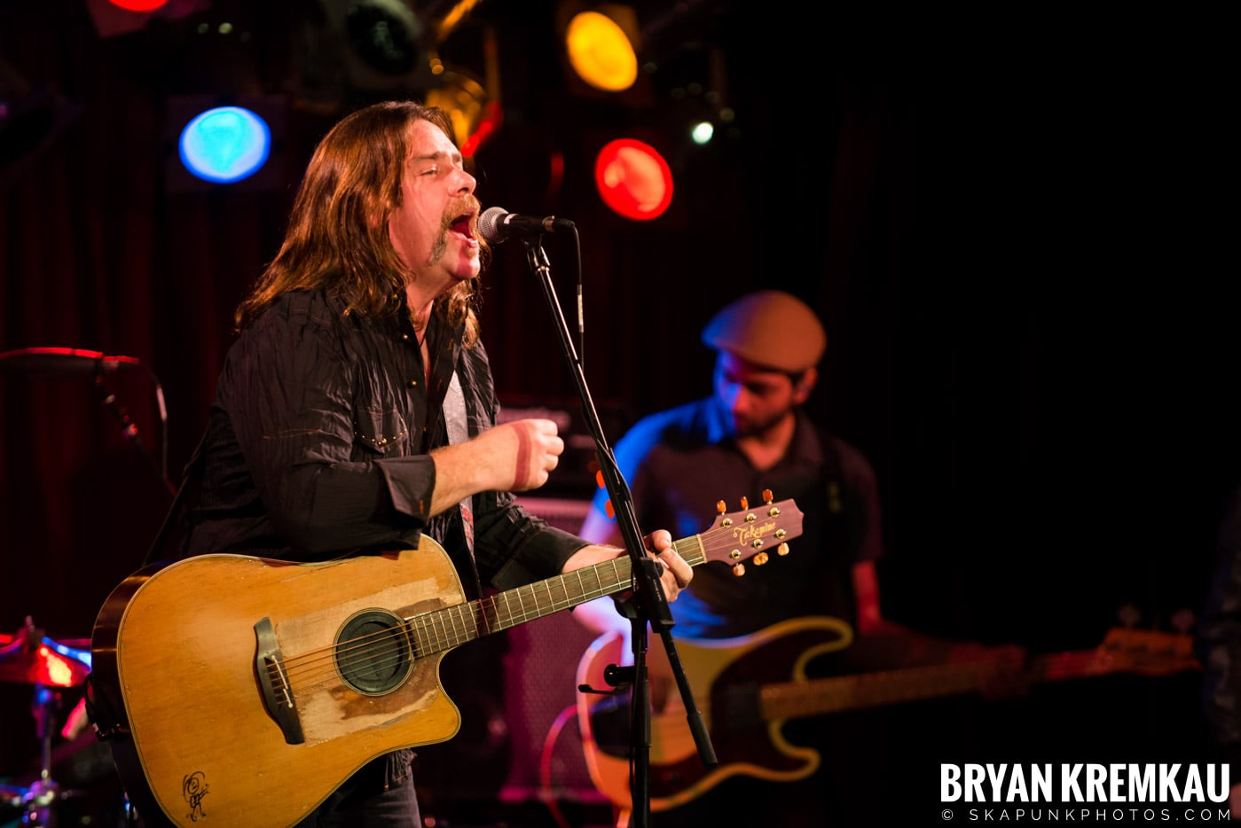 Alan Doyle @ B.B. King Blues & Grill, NYC - 1.11.13 (16)