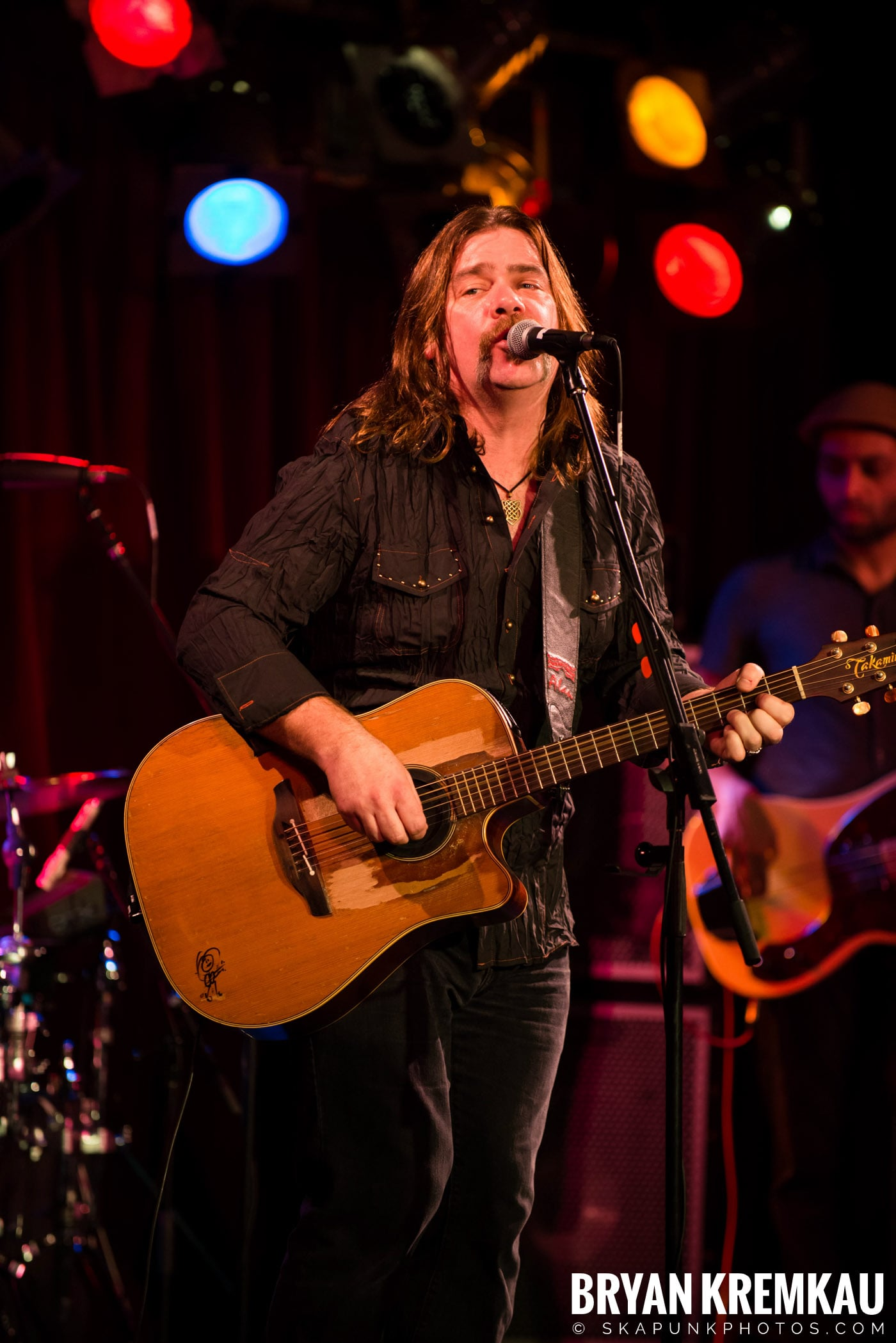 Alan Doyle @ B.B. King Blues & Grill, NYC - 1.11.13 (15)