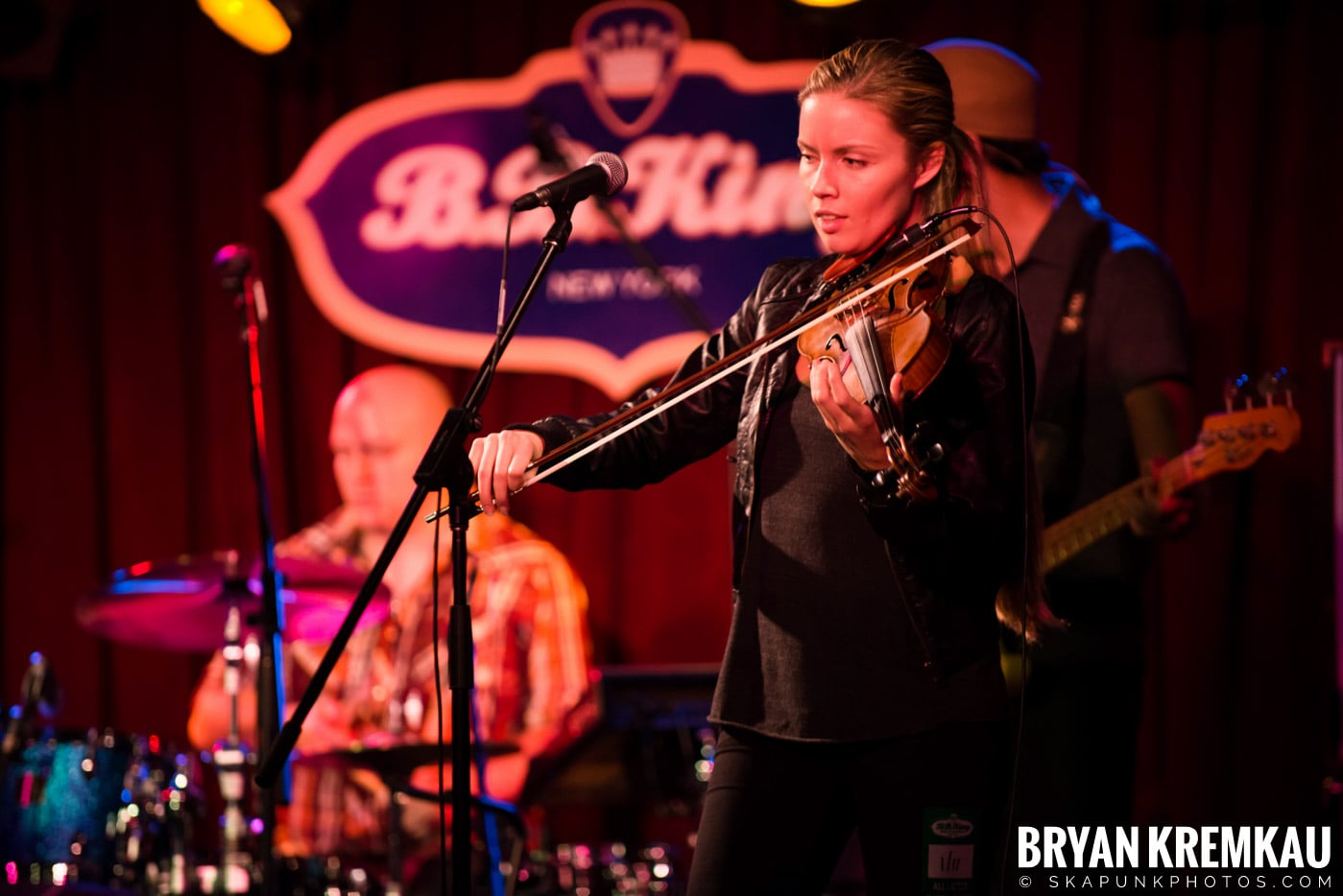 Alan Doyle @ B.B. King Blues & Grill, NYC - 1.11.13 (14)