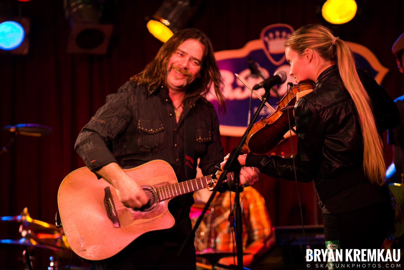 Alan Doyle @ B.B. King Blues & Grill, NYC - 1.11.13 (13)