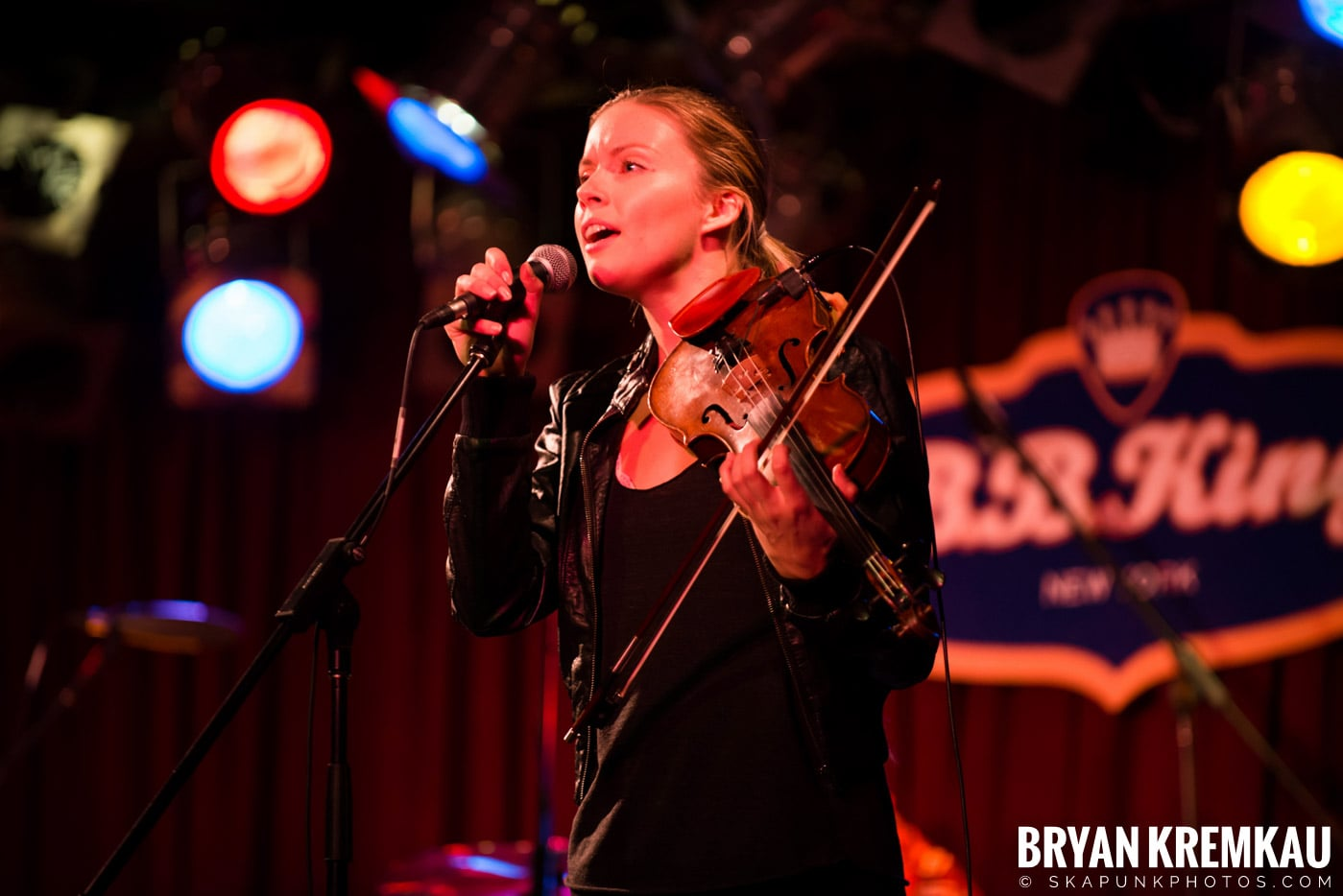 Alan Doyle @ B.B. King Blues & Grill, NYC - 1.11.13 (8)