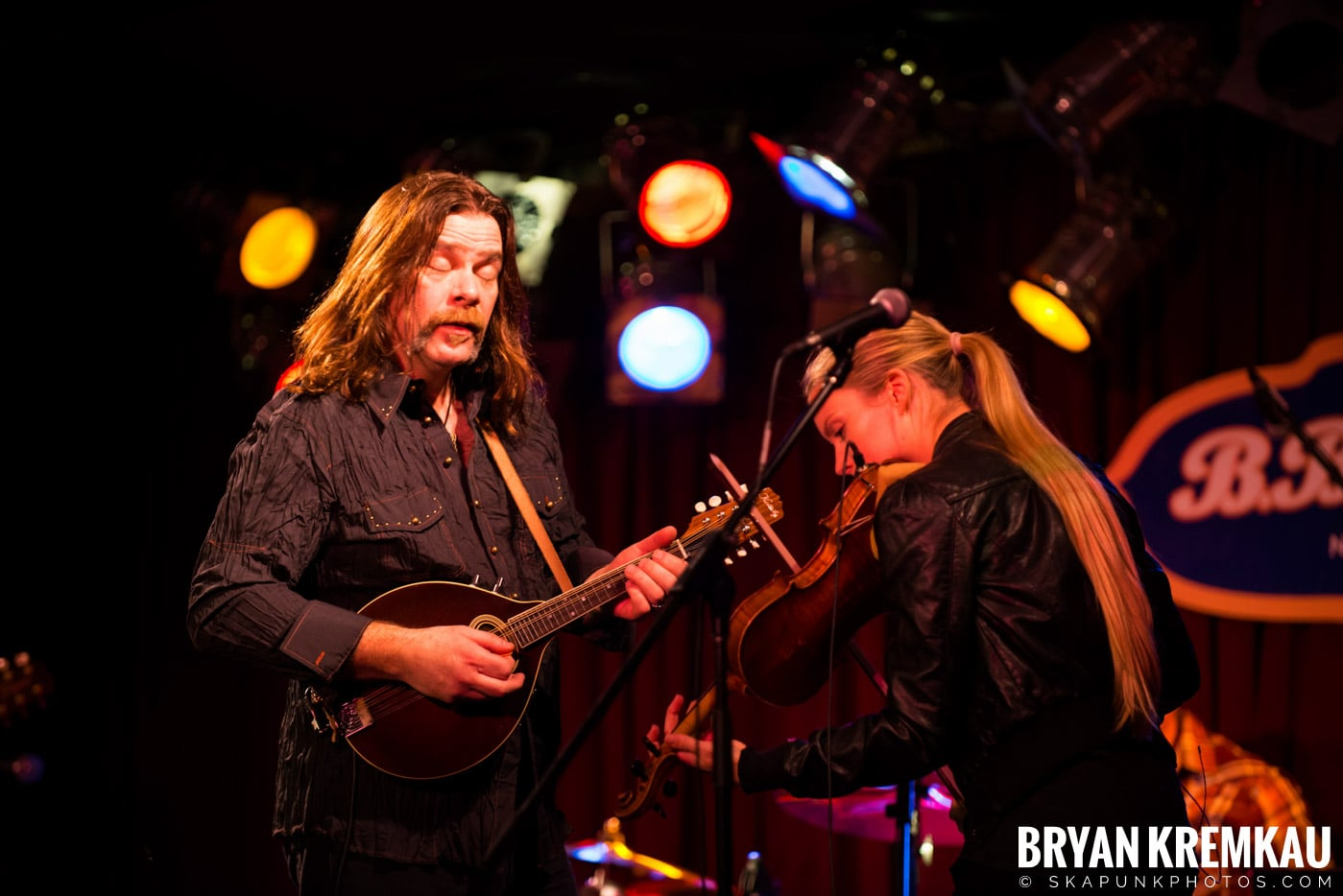 Alan Doyle @ B.B. King Blues & Grill, NYC - 1.11.13 (7)