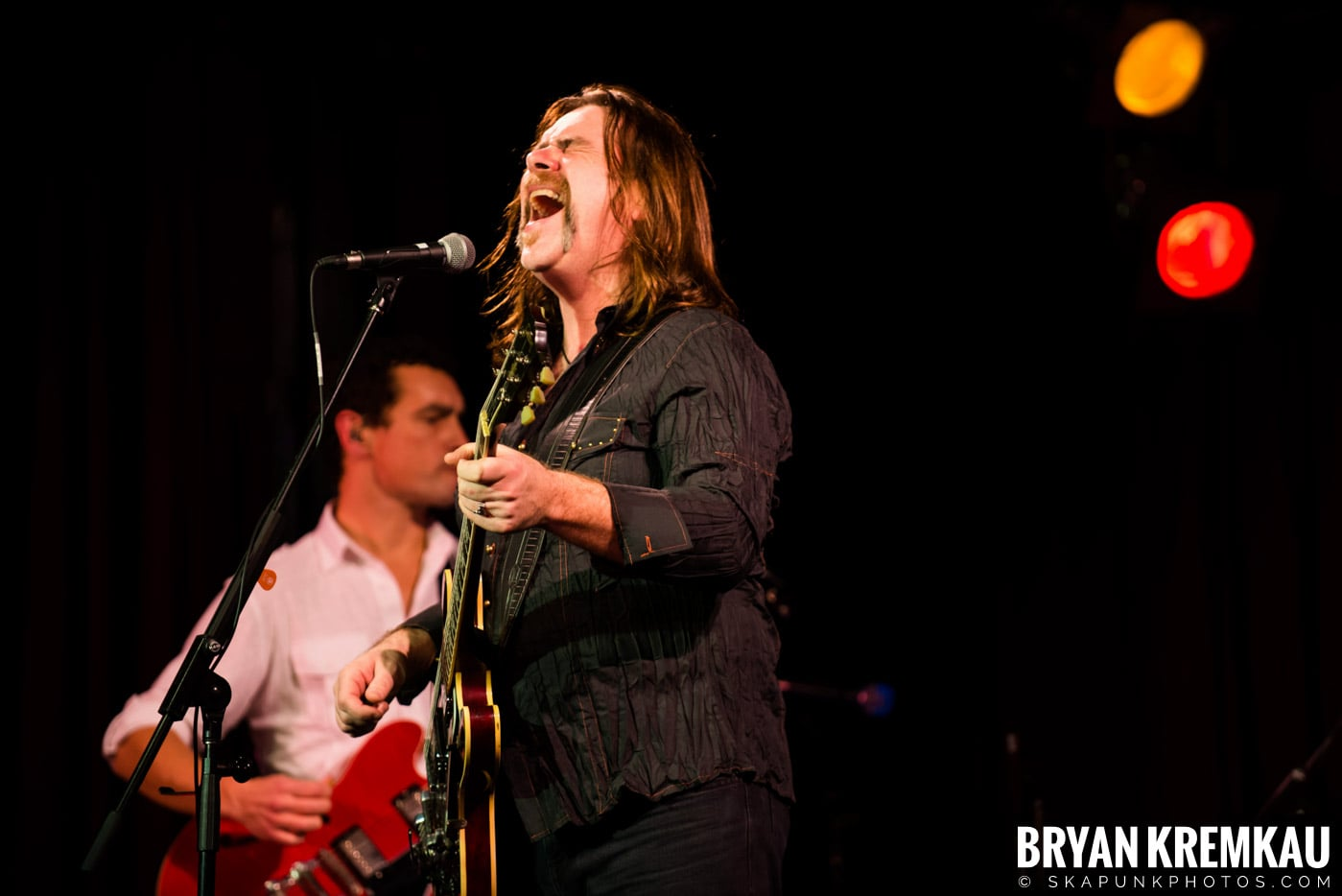 Alan Doyle @ B.B. King Blues & Grill, NYC - 1.11.13 (3)