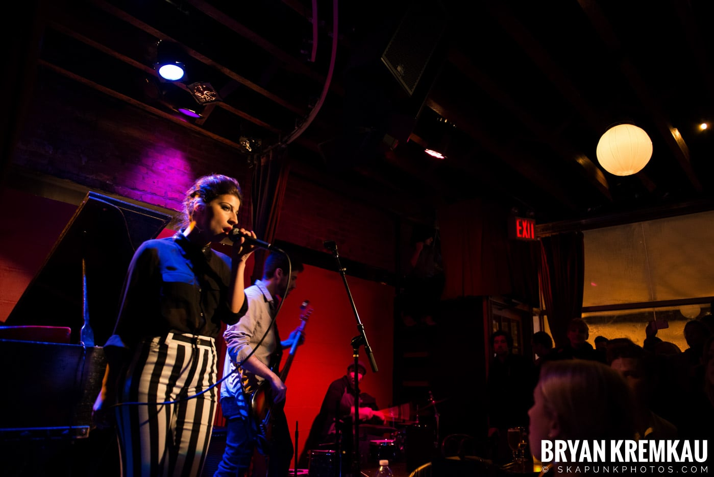 Ariana and The Rose @ Rockwood Music Hall, NYC - 1.17.13 (9)