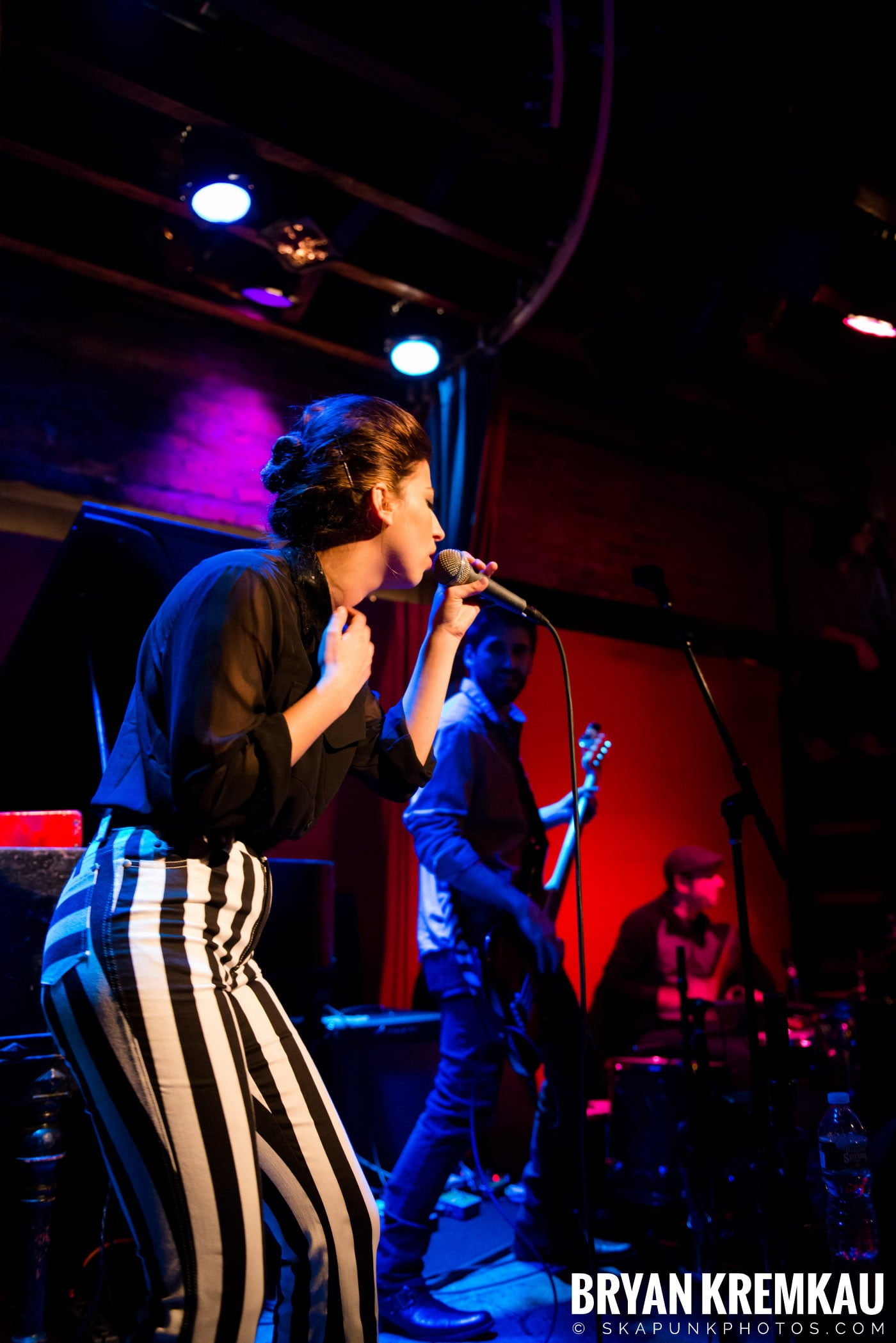 Ariana and The Rose @ Rockwood Music Hall, NYC - 1.17.13 (7)