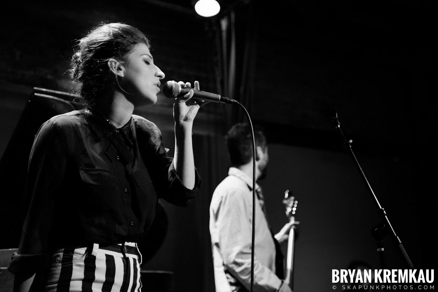 Ariana and The Rose @ Rockwood Music Hall, NYC - 1.17.13 (6)