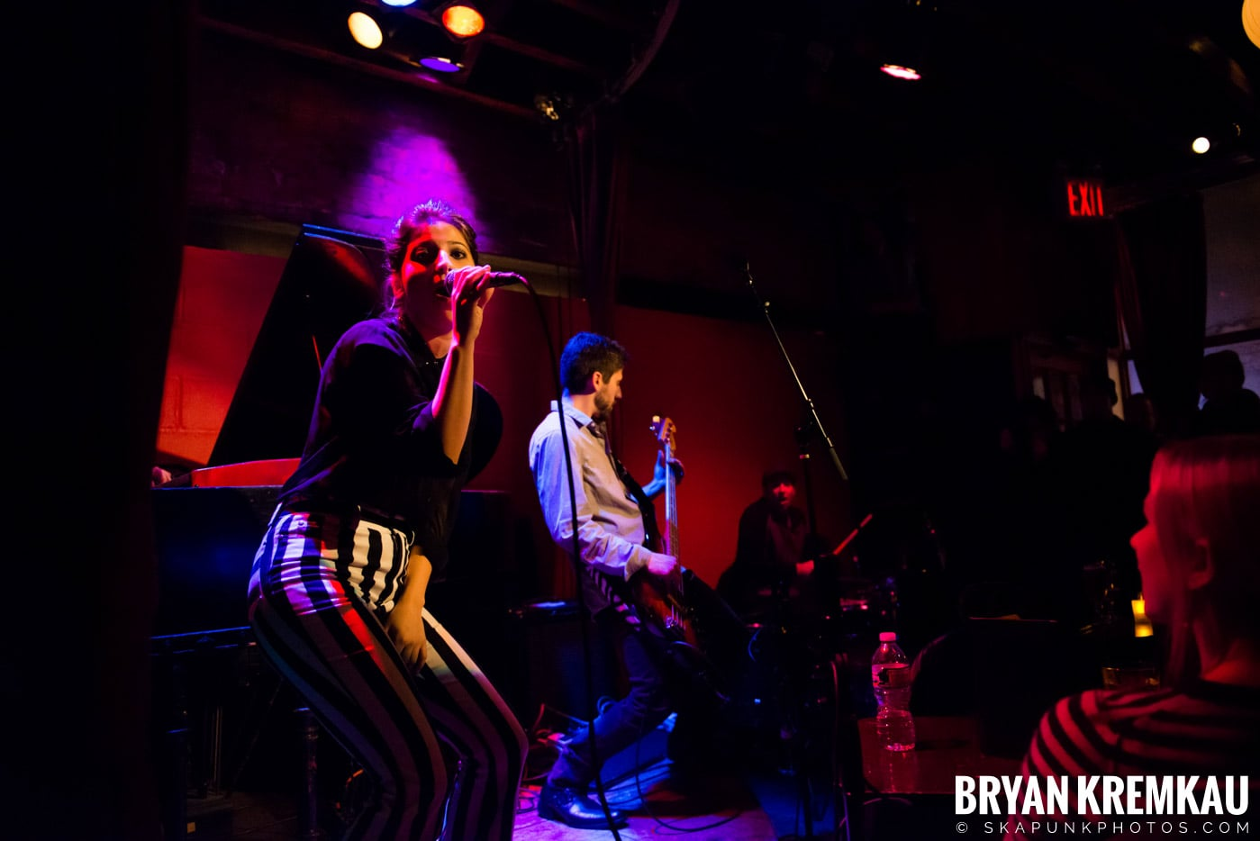 Ariana and The Rose @ Rockwood Music Hall, NYC - 1.17.13 (2)