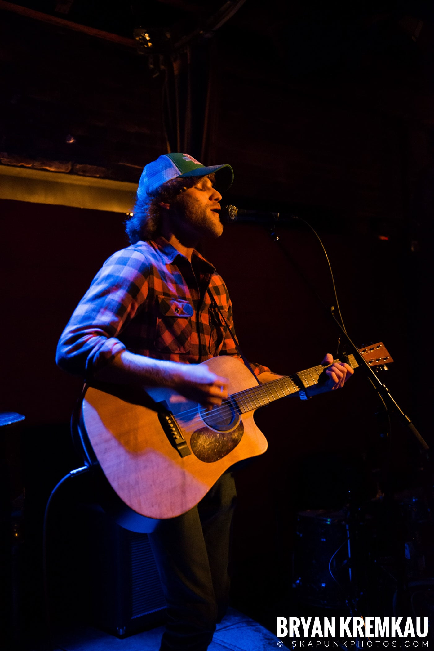 Nick Gill @ Rockwood Music Hall, NYC - 1.17.13 (9)
