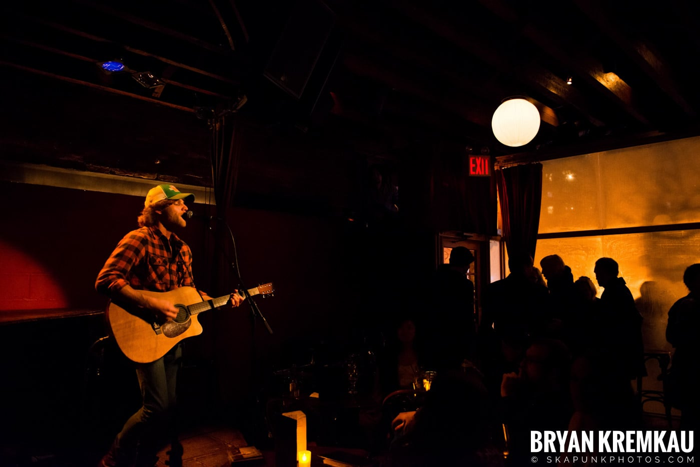 Nick Gill @ Rockwood Music Hall, NYC - 1.17.13 (6)
