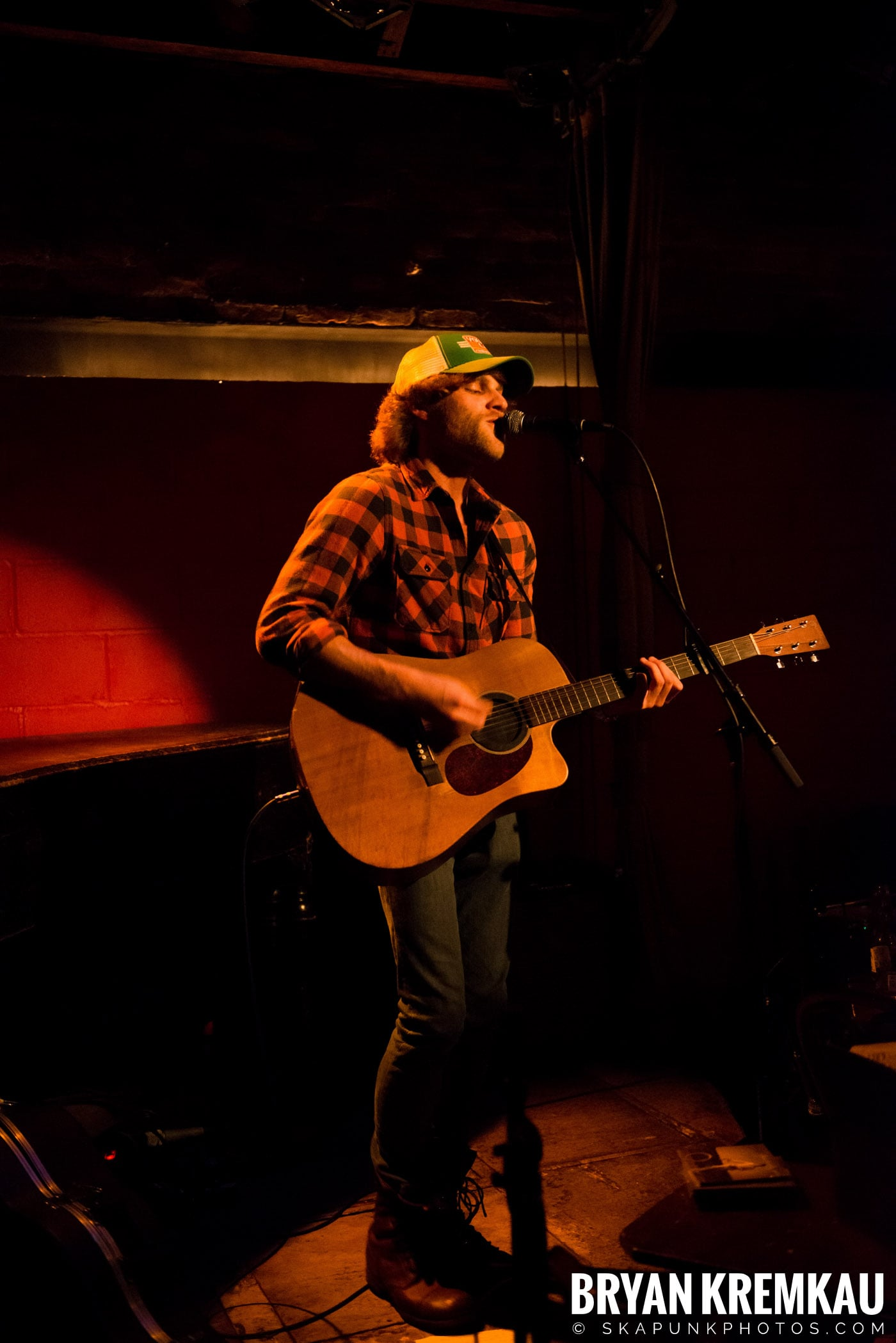 Nick Gill @ Rockwood Music Hall, NYC - 1.17.13 (5)