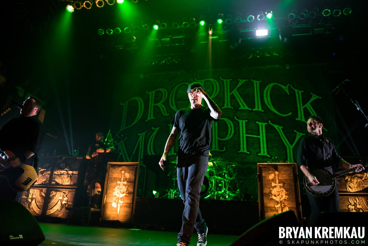 The Dropkick Murphys @ Terminal 5, NYC - 3.12.13 (29)