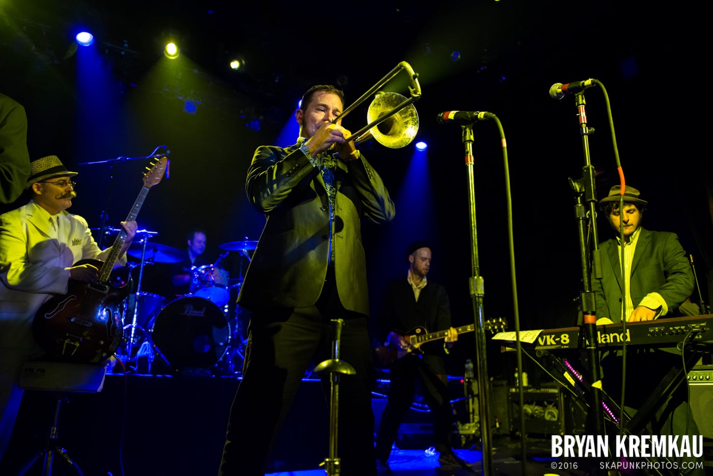 The Slackers @ Apple Stomp: Day 2, Irving Plaza, NYC - June 1st 2013 - Bryan Kremkau (37)