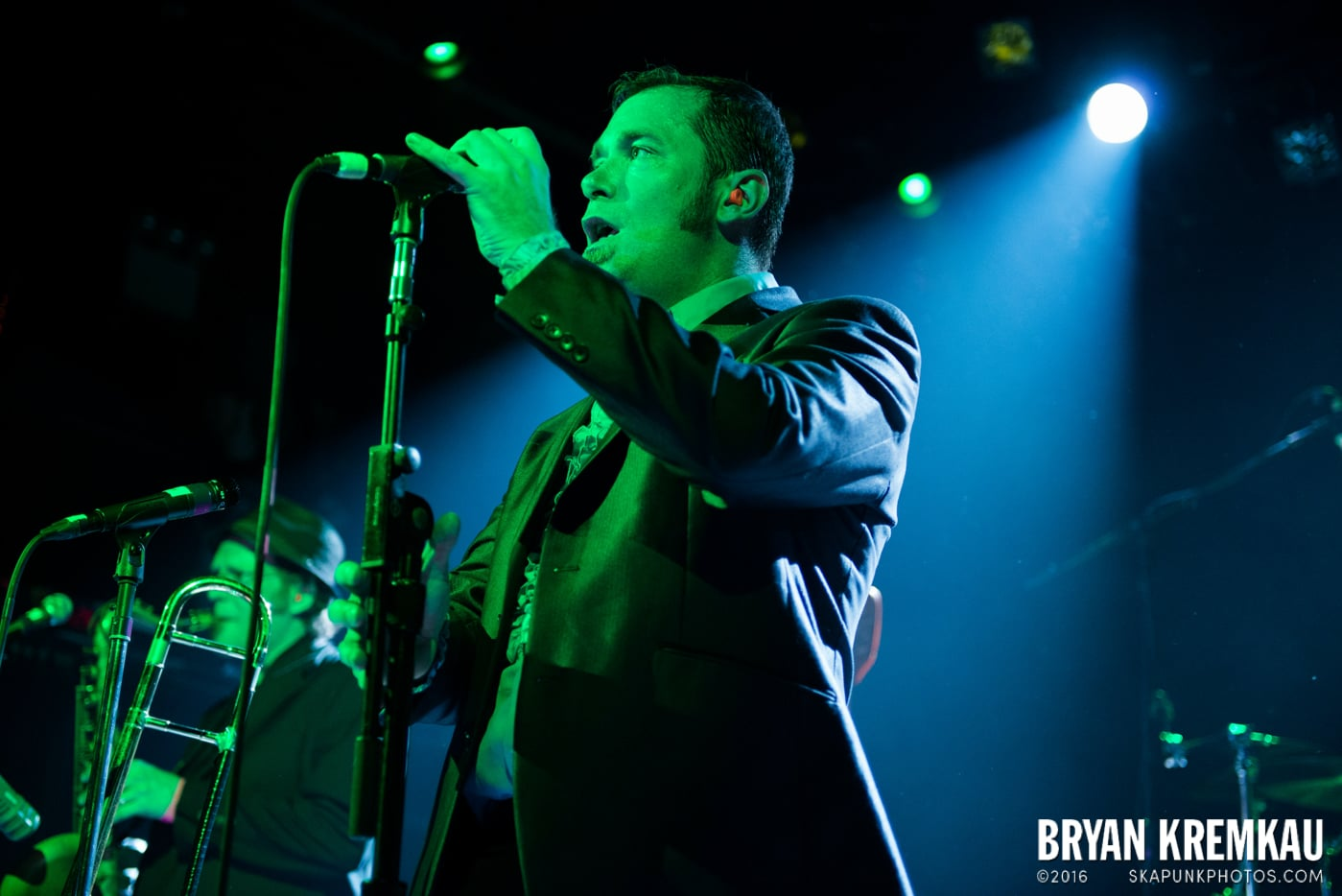 The Slackers @ Apple Stomp: Day 2, Irving Plaza, NYC - June 1st 2013 - Bryan Kremkau (28)