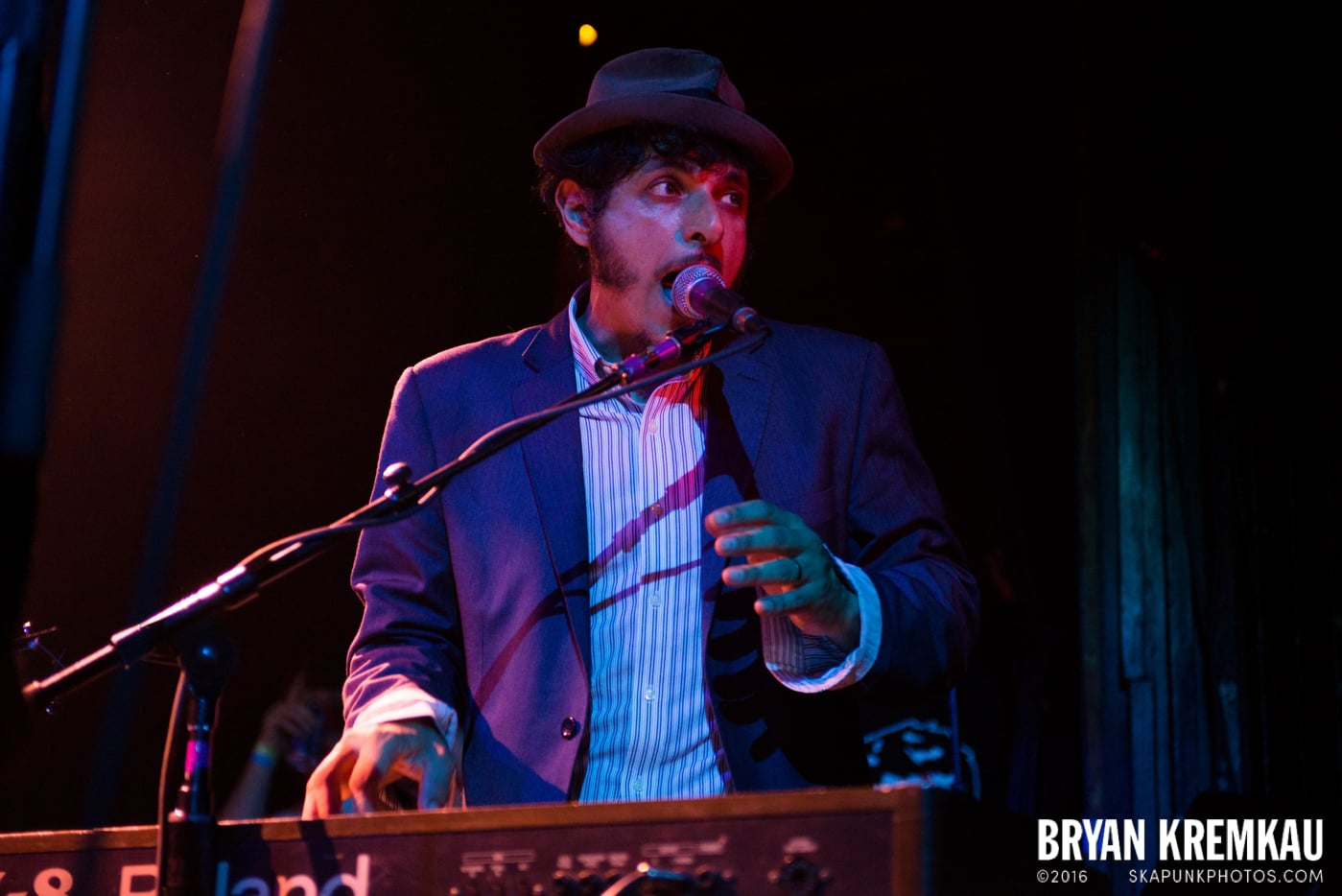 The Slackers @ Apple Stomp: Day 2, Irving Plaza, NYC - June 1st 2013 - Bryan Kremkau (16)