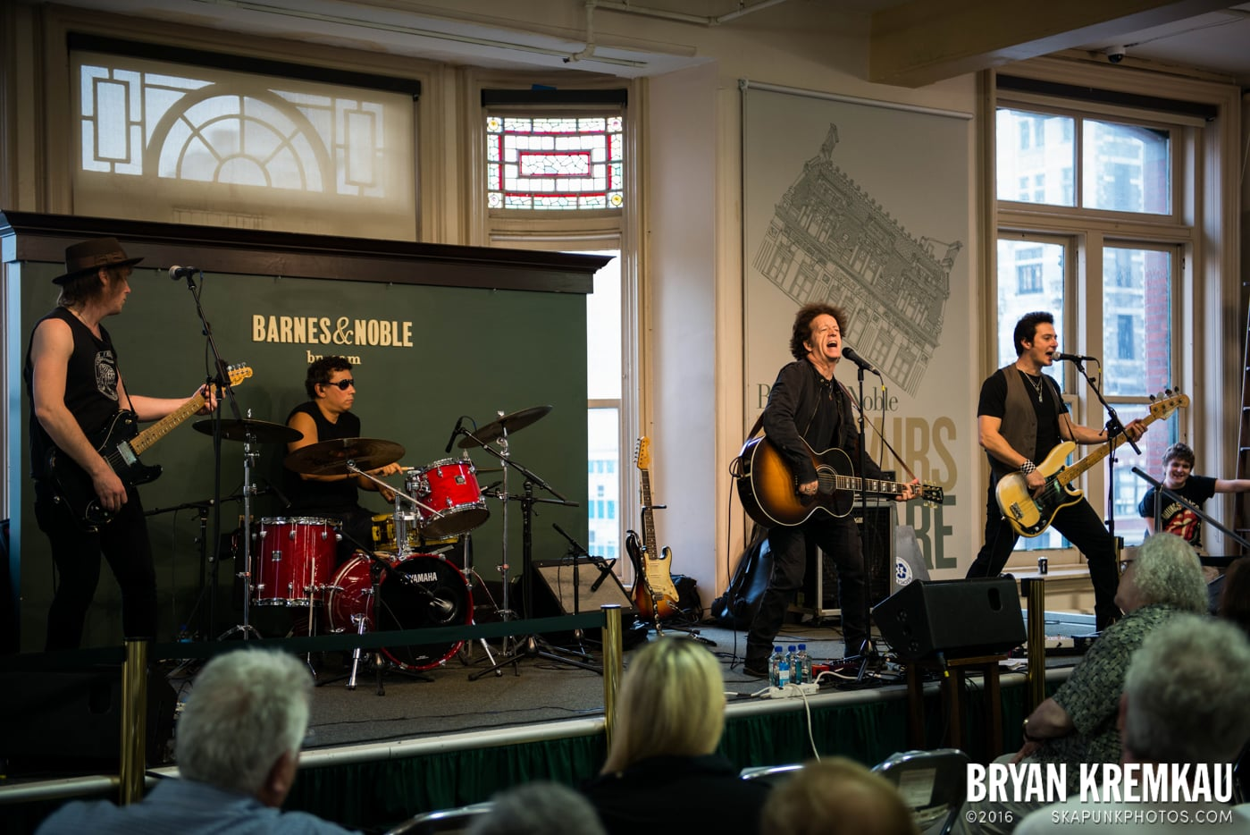 Willie Nile @ Barnes & Noble Union Square, NYC - June 25th 2013 (22)