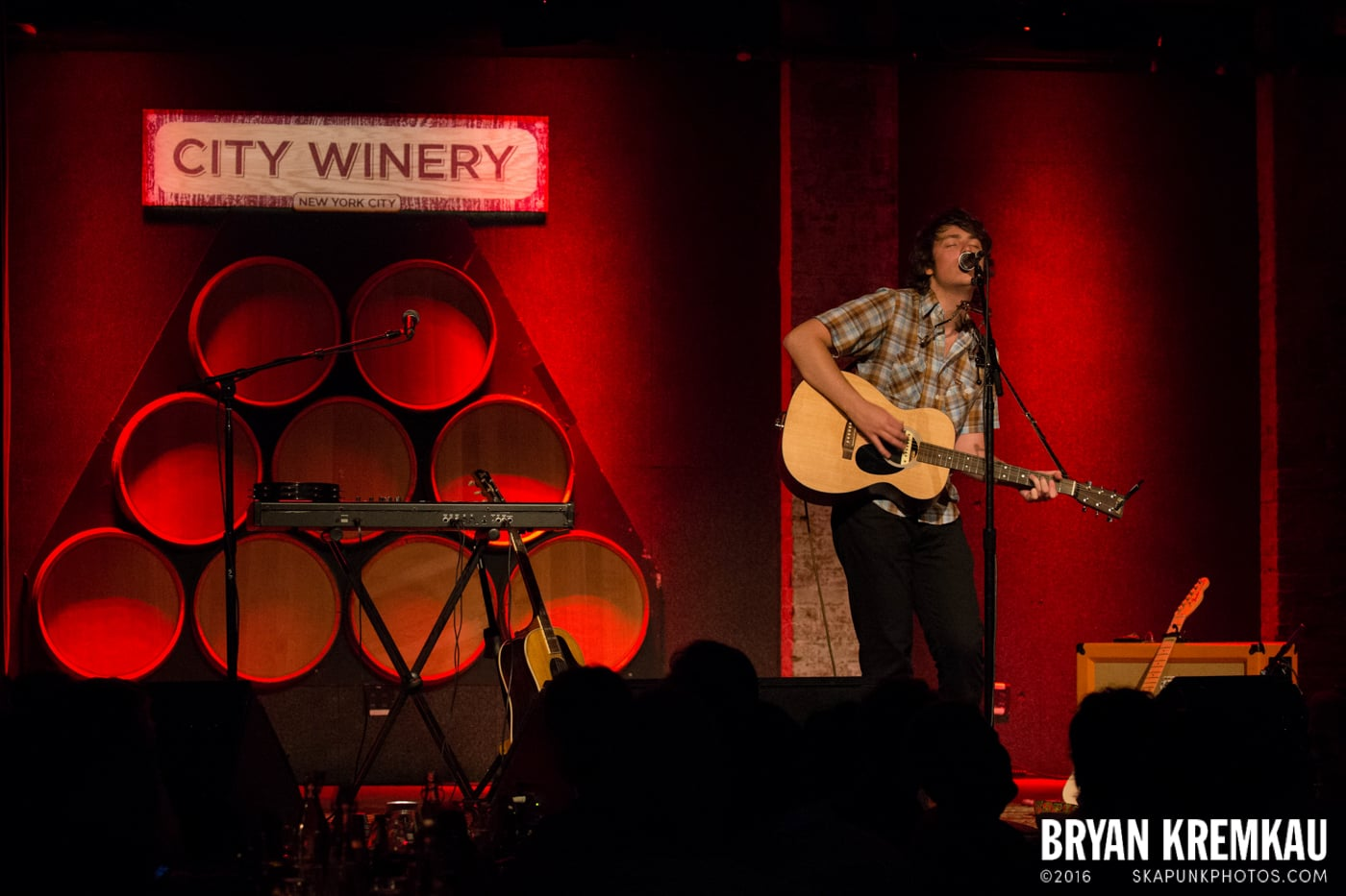 Trapper Schoepp @ City Winery, NYC - 6.26.13 (1)