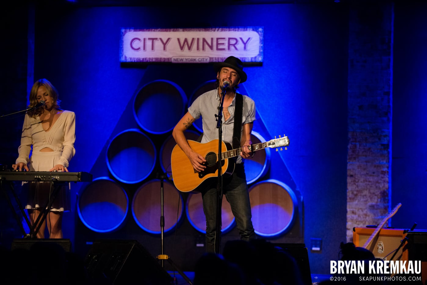 Cory Chisel and The Wandering Sons @ City Winery, NYC - 6.26.13 (4)