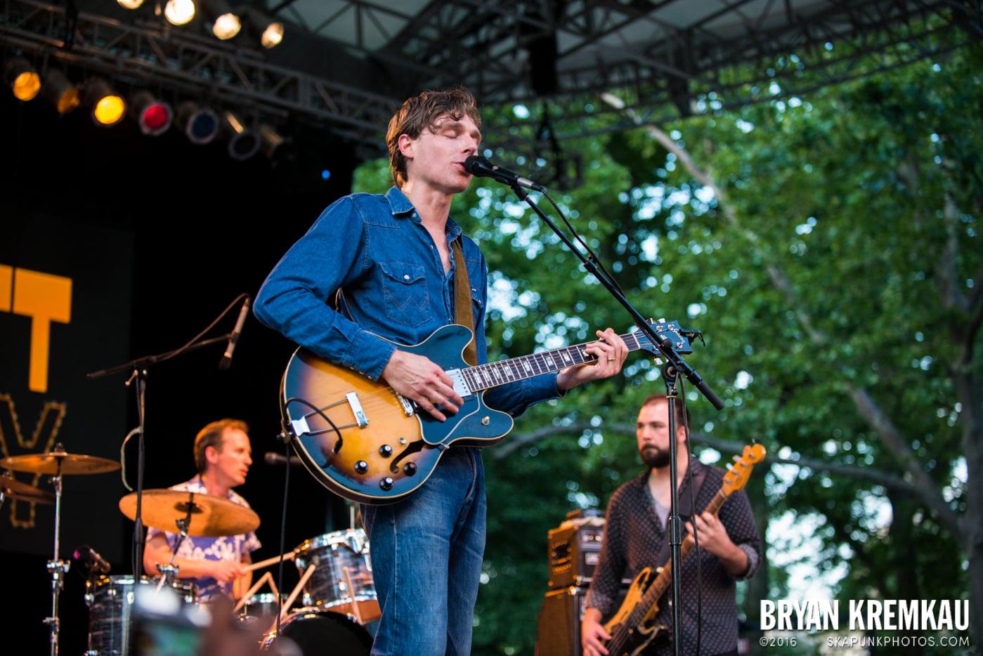 Joel Plaskett Emergency @ Central Park Summer Stage, NYC - 6.29.13 (3)