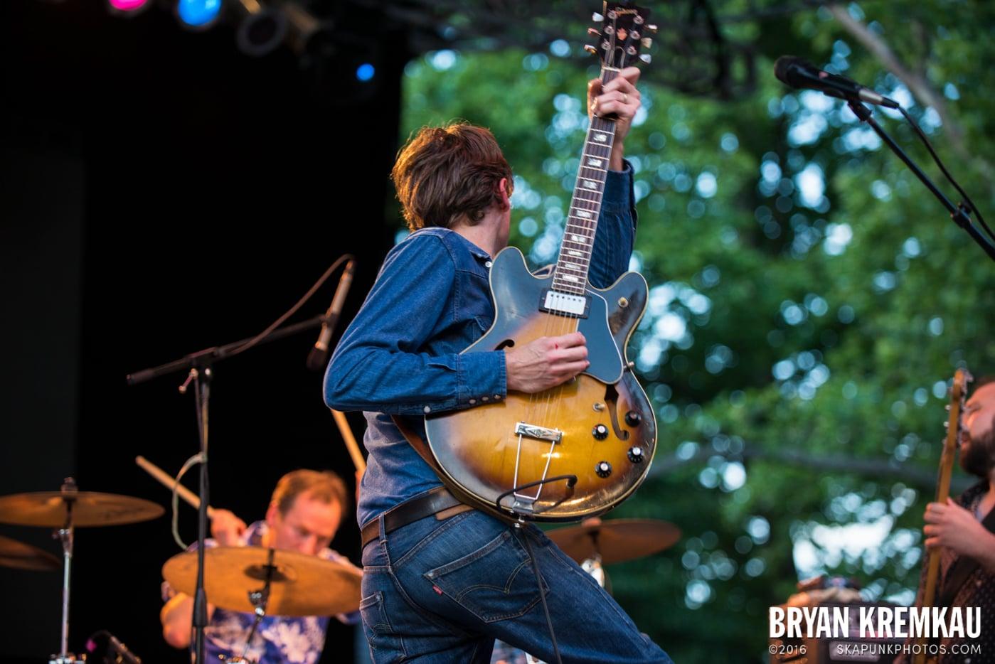 Joel Plaskett Emergency @ Central Park Summer Stage, NYC - 6.29.13 (1)