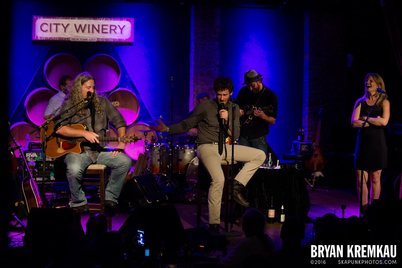 Carbon Leaf @ City Winery, NYC - 7.11.13 (12)